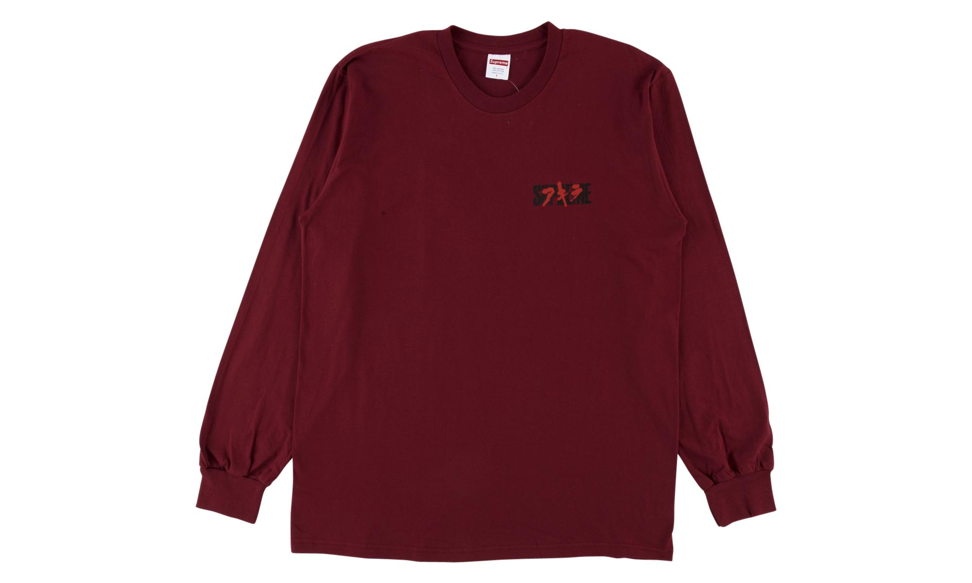 f78f79075448 Lyst - Supreme Akira Neo-tokyo L s Tee in Red for Men