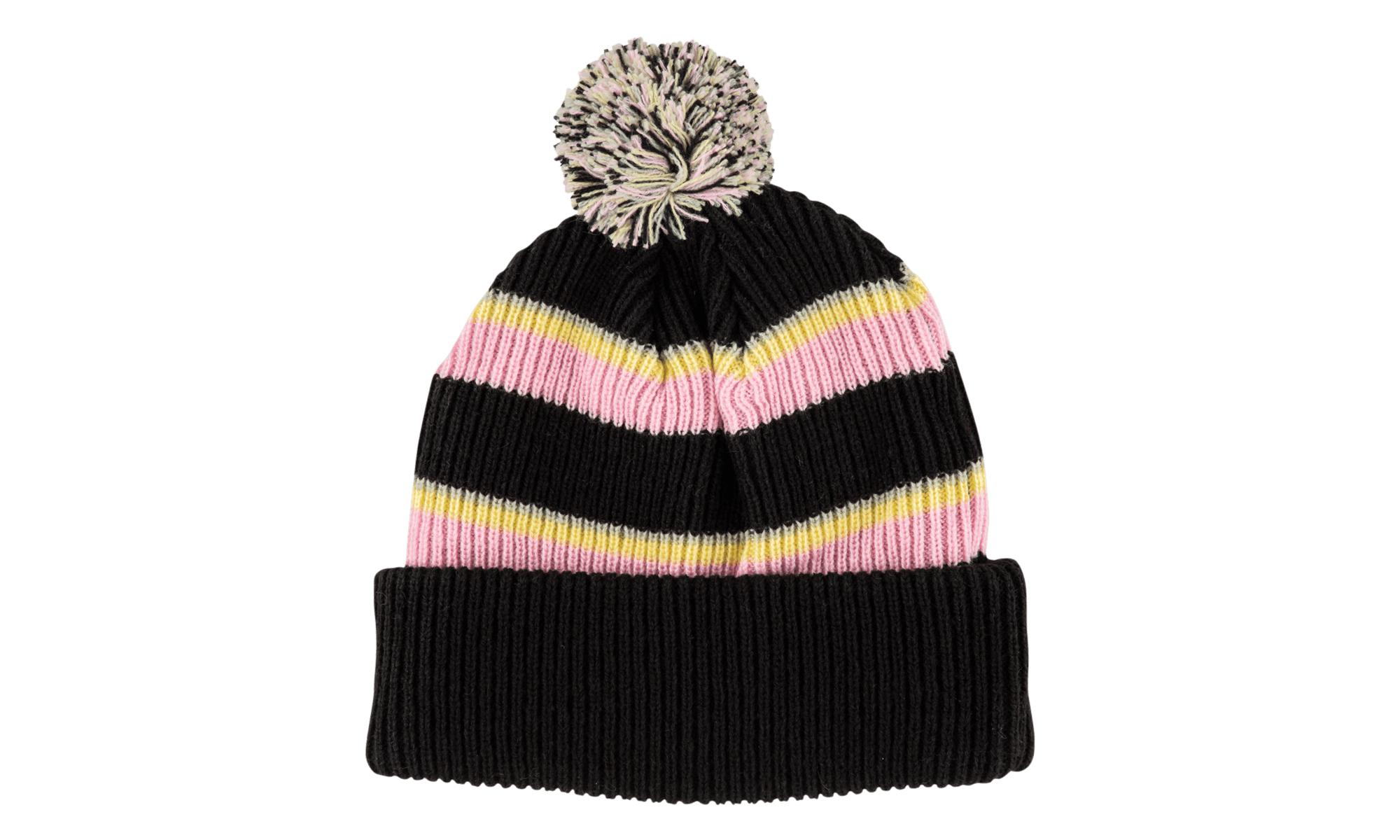 d7f5fe47282 Lyst - Supreme Big Stripe Beanie Black in Black