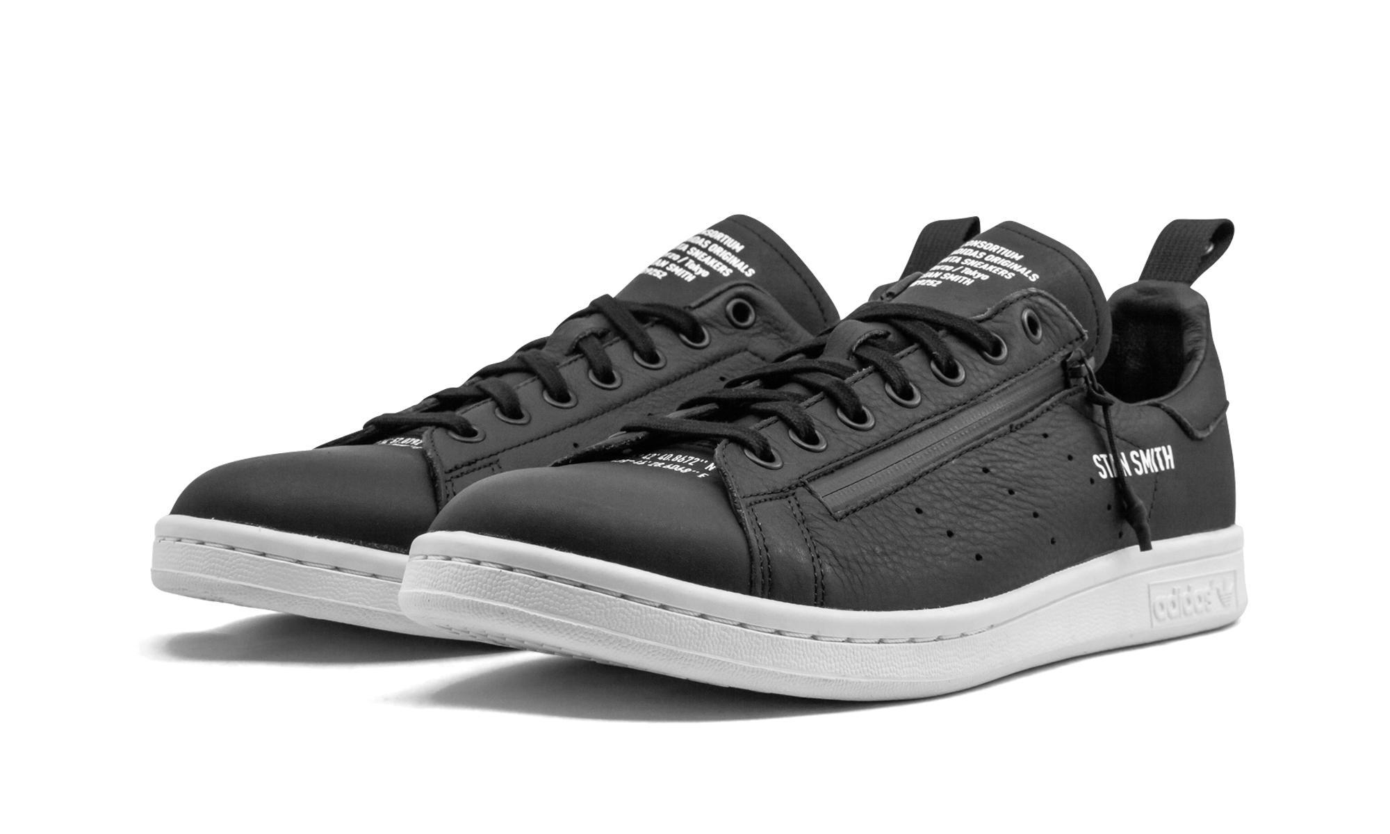 reputable site 8a88f fd317 adidas Stan Smith Mita in Black for Men - Lyst