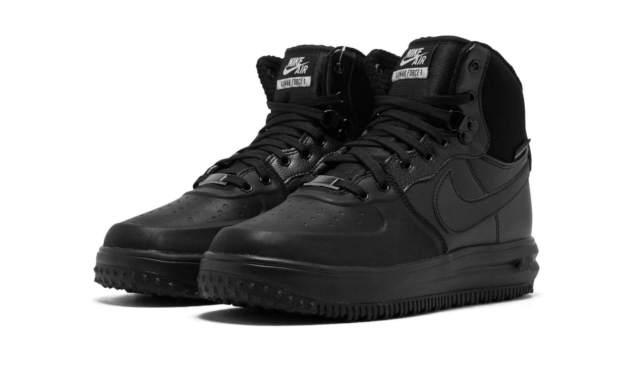 9dea65672da6 ... Nike - Black Lunar Force 1 Sneakerboot Gs - Lyst.