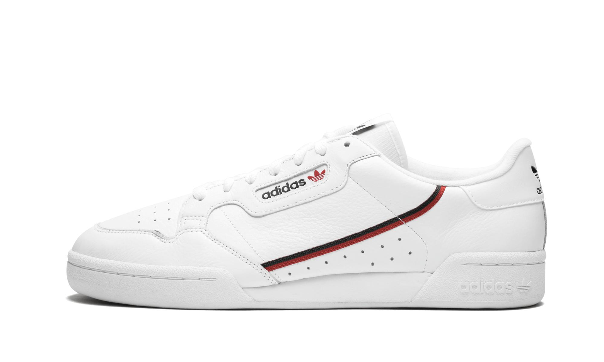 outlet store 70700 d93c9 adidas Continental 80 Trainers in White for Men - Save 56% -