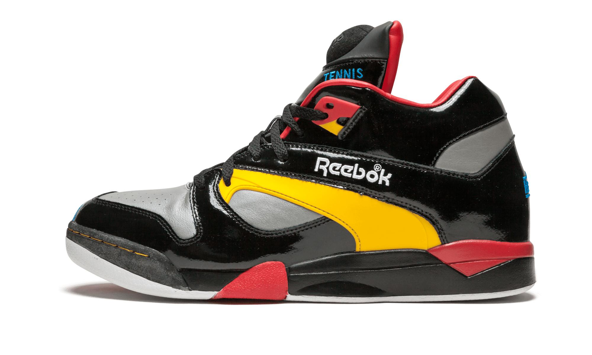 7ecaadea765 Reebok - Black Court Victory Pump for Men - Lyst. View fullscreen