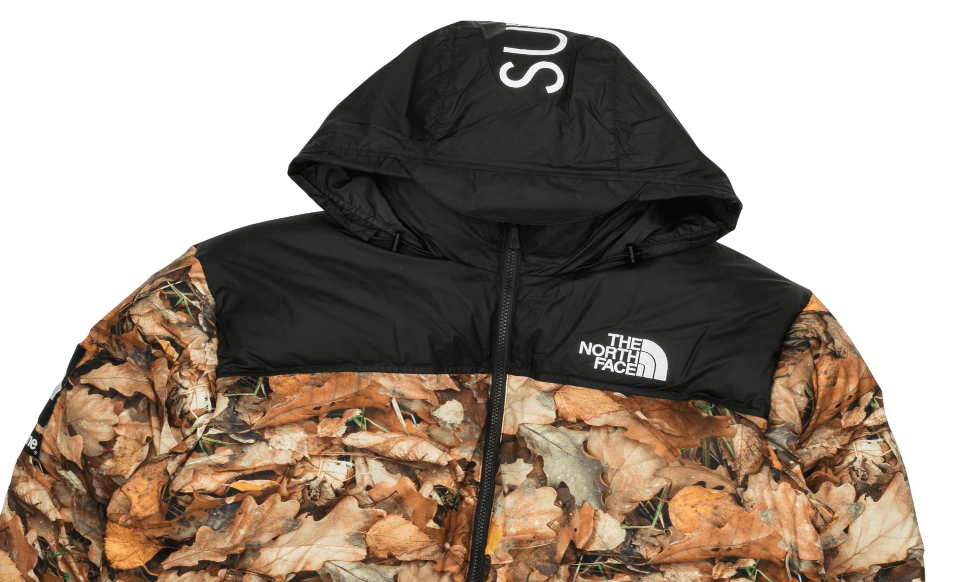 supremethe north face nuptse jacket leaves new product 53f28 501b0 ... 0081927d3