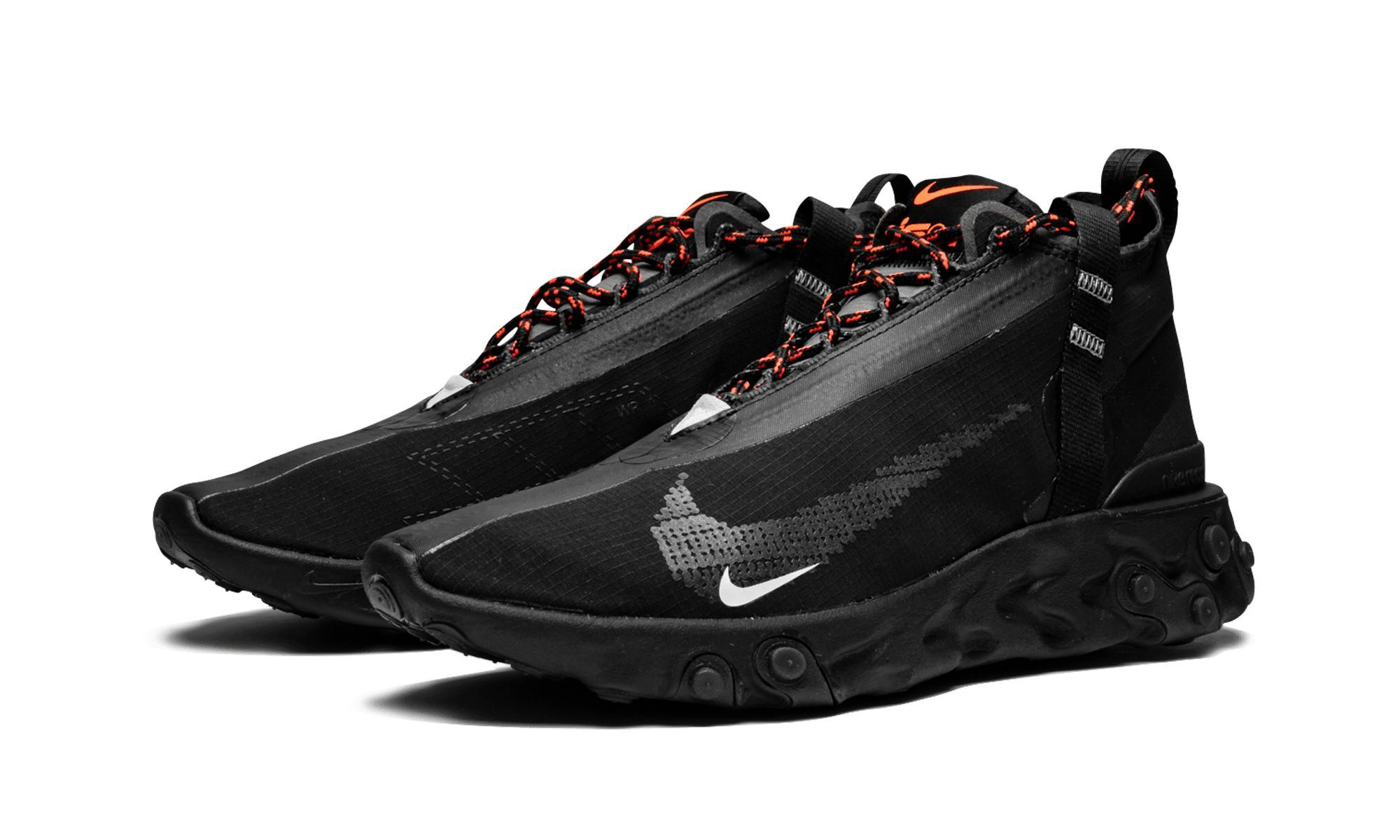 8b3520f1ca5 Nike - Black React Runner Mid Wr Ispa for Men - Lyst. View fullscreen