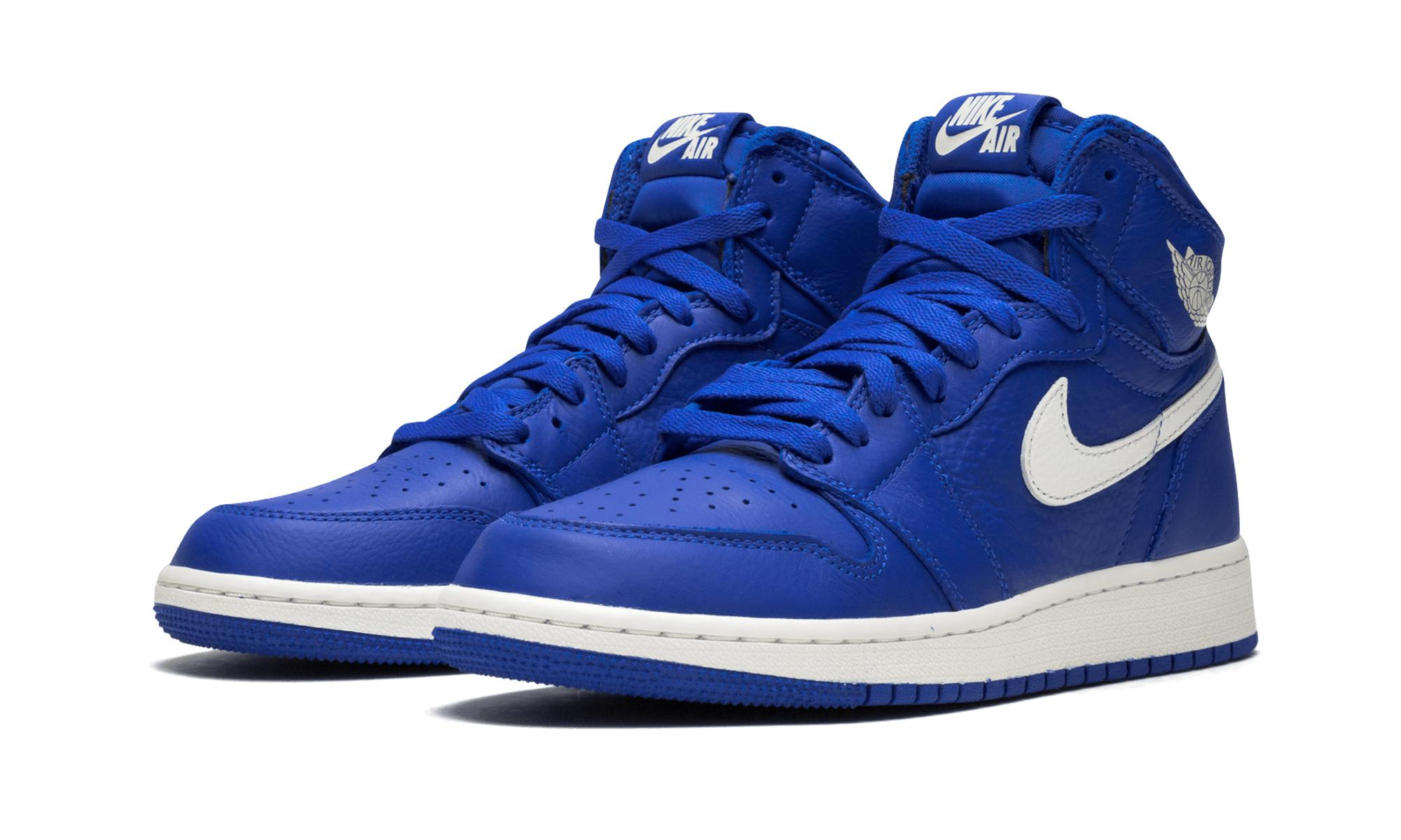 best sneakers a6c1d b3d25 Nike - Blue Air 1 Retro High Og Gs for Men - Lyst. View fullscreen