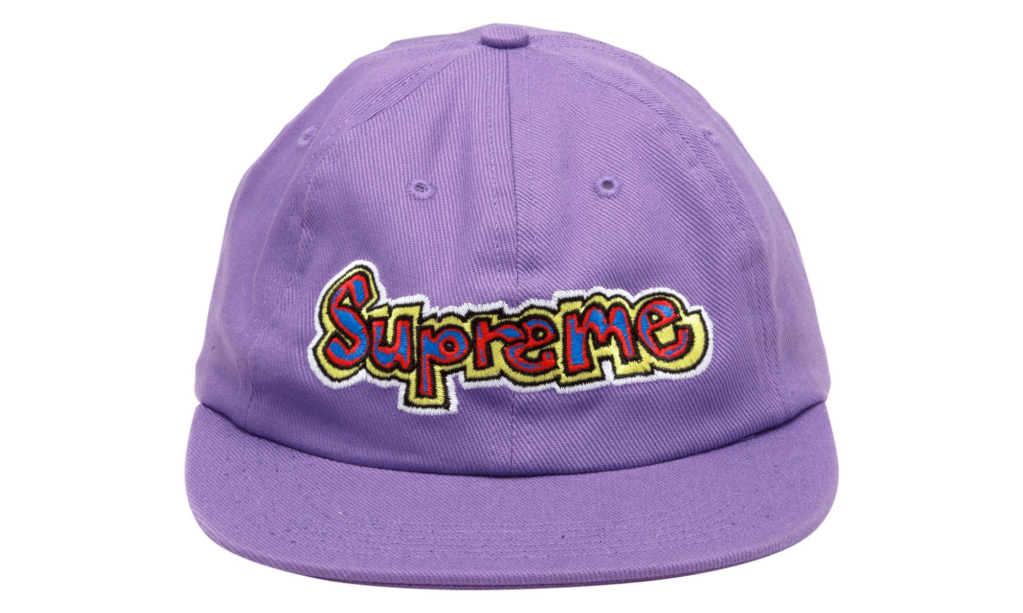 dec8d199 Supreme Gonz Logo 6 Panel in Purple for Men - Lyst