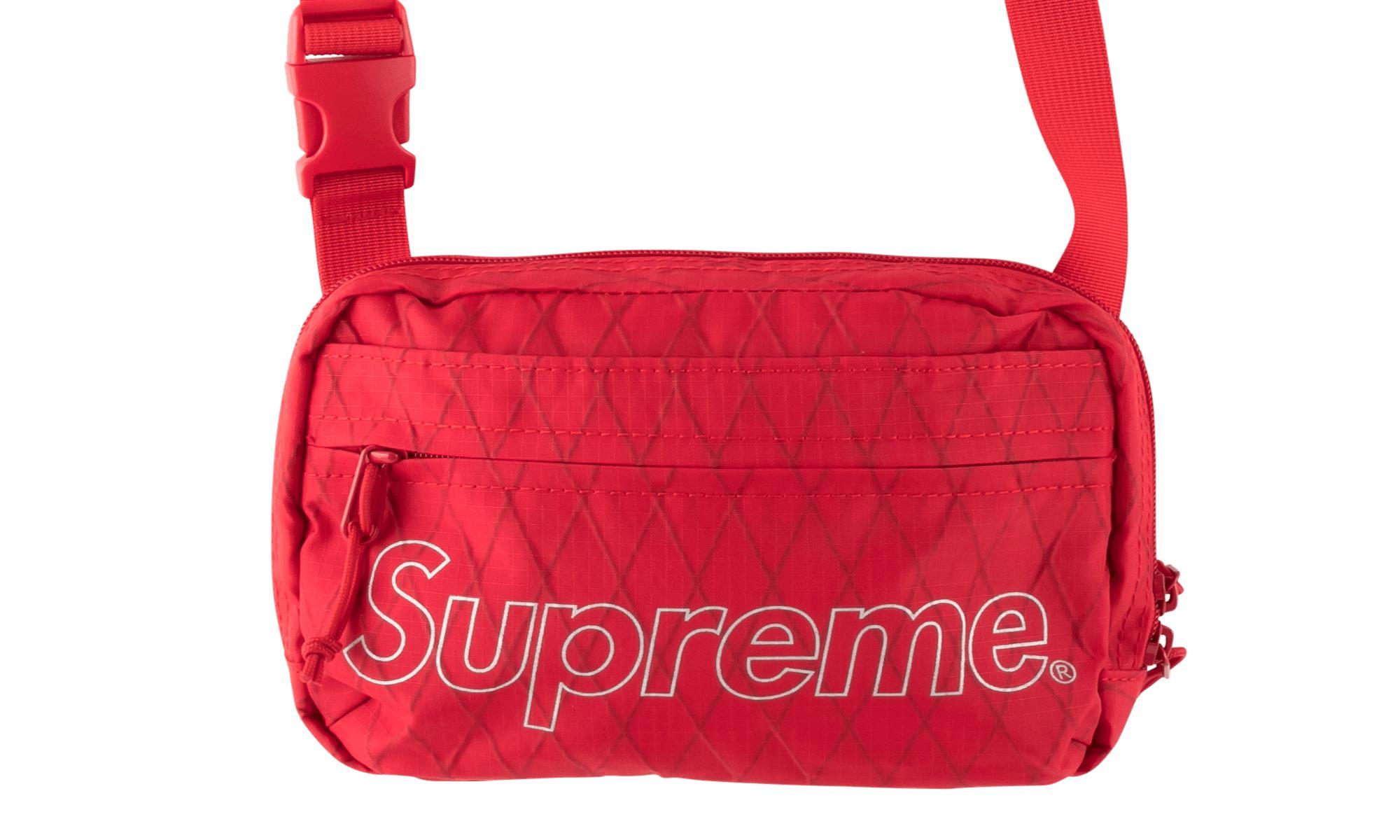 7360a65428d Supreme - Red Shoulder Bag - Lyst. View fullscreen