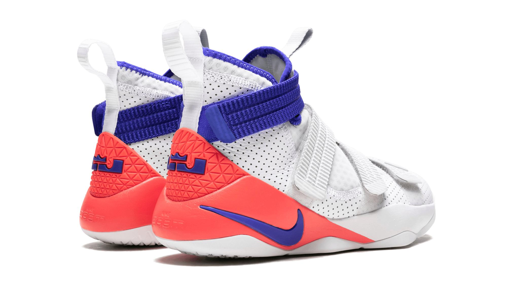 the latest 3ac36 39e06 Lyst - Nike Lebron Soldier 11 Sfg in White for Men