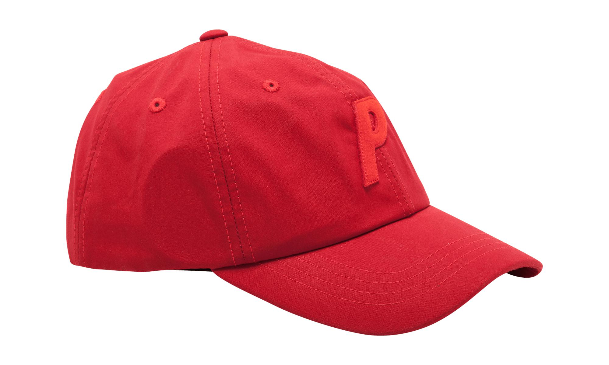 fe87d2d674a Palace - Red P 6-panel for Men - Lyst. View fullscreen