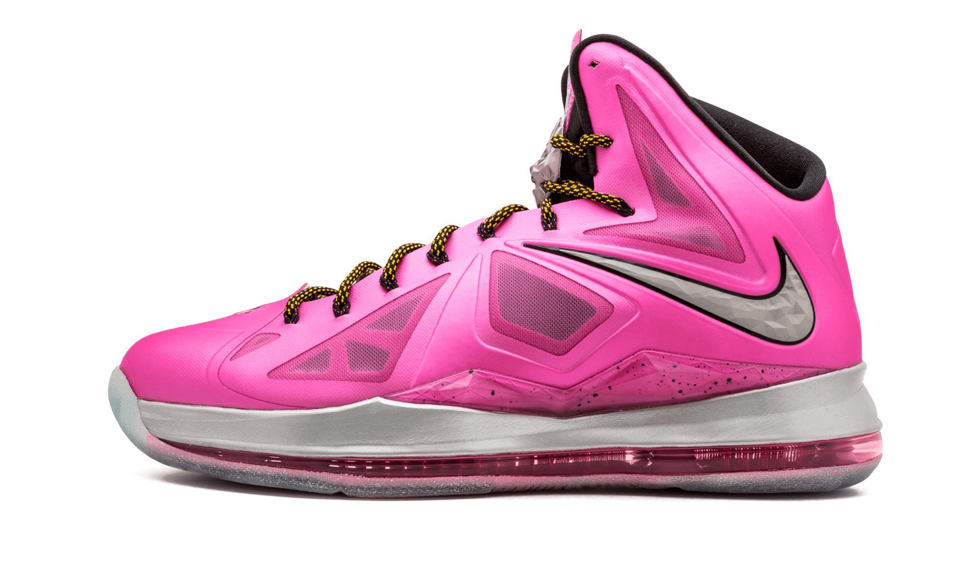955e40ccf8de Lyst - Nike Lebron 10  kay Yow  Pe in Pink