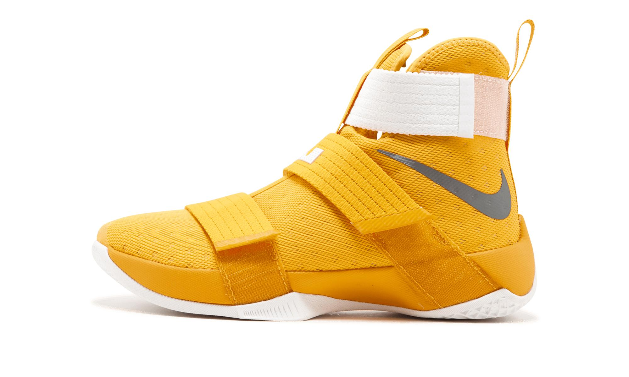 best website 144f4 72192 Nike Lebron Soldier 10 in Yellow for Men - Lyst
