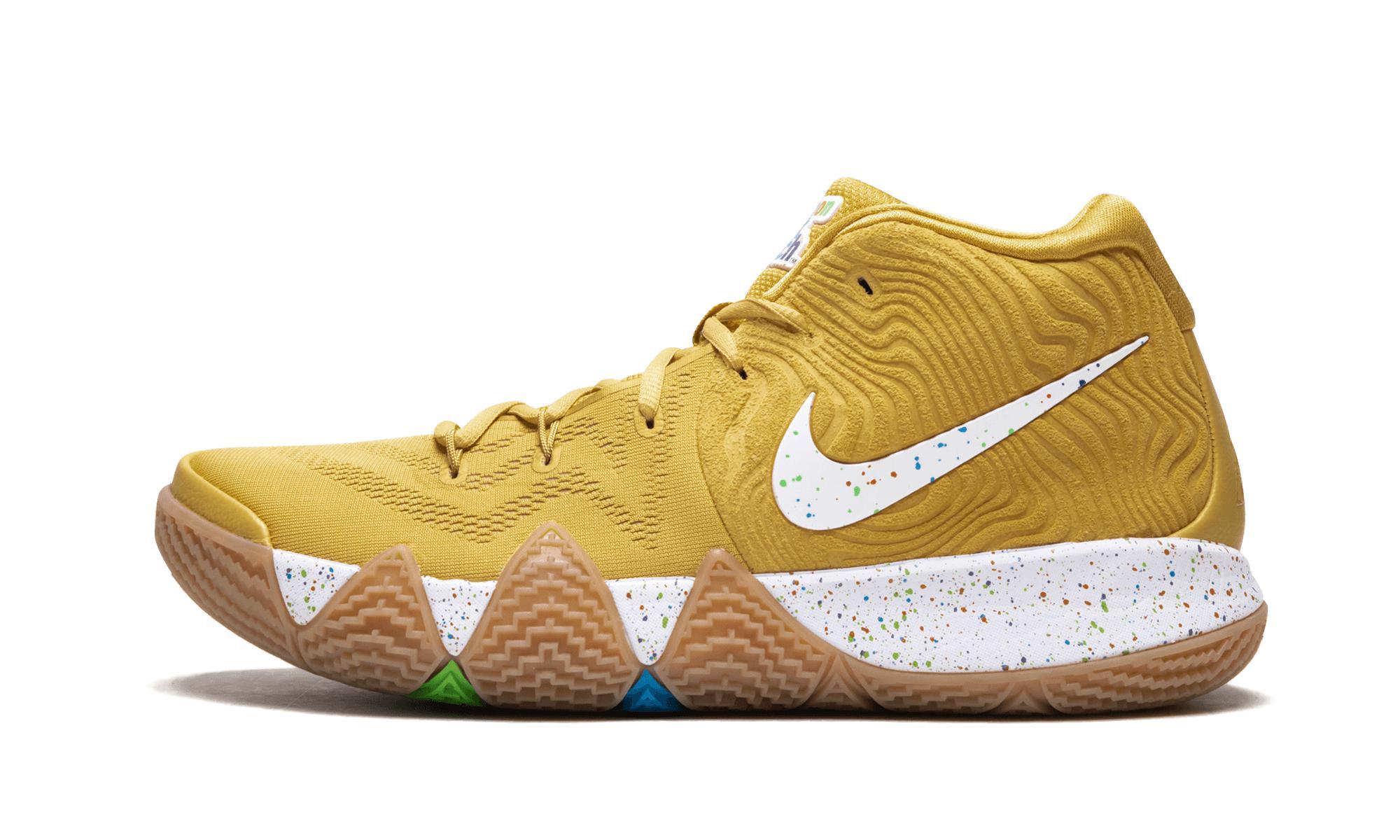 Nike Kyrie 4 Ctc in Metallic for Men - Lyst 006c639b2