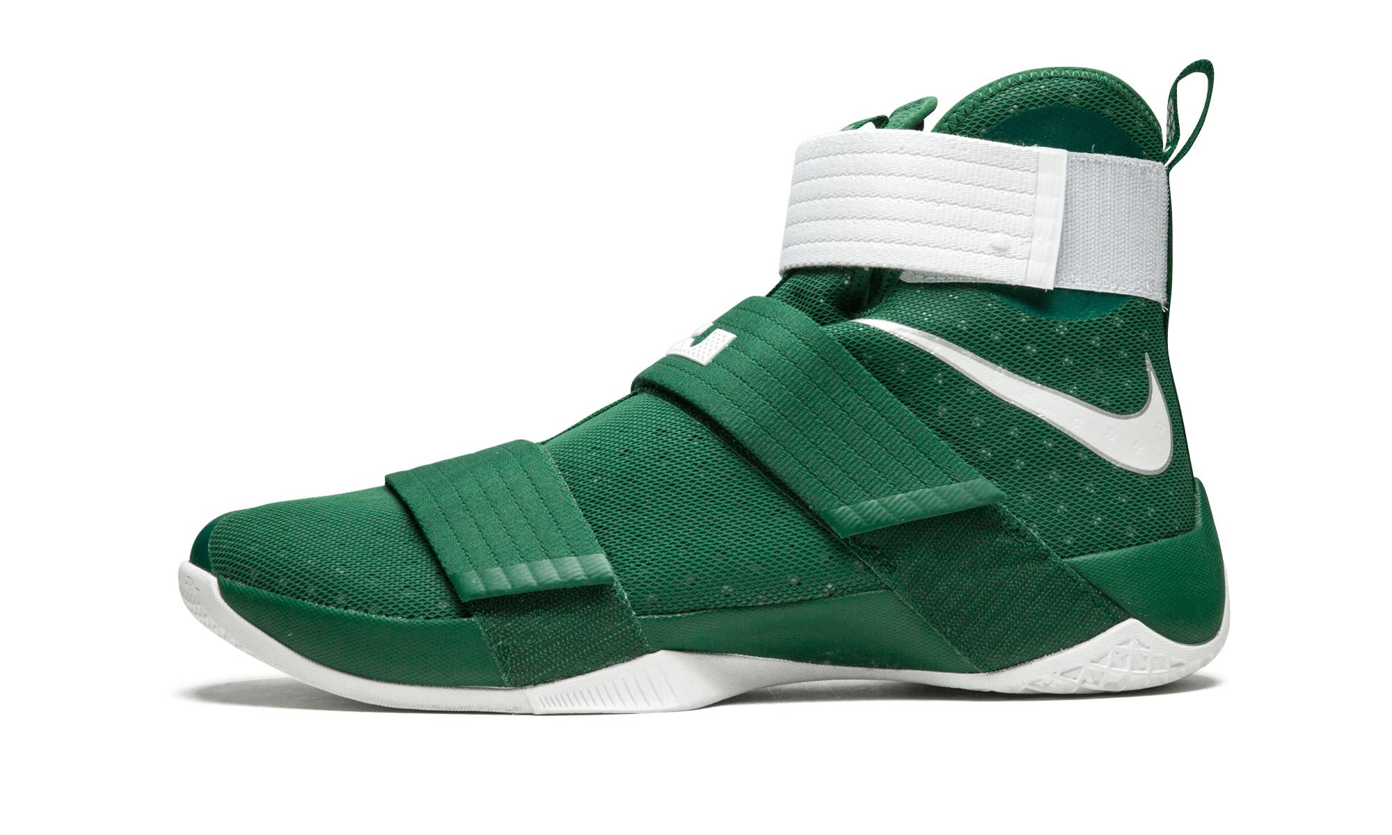0241f956e82 ... usa lyst nike lebron soldier 10 tb in green for men 9436a 13cc0