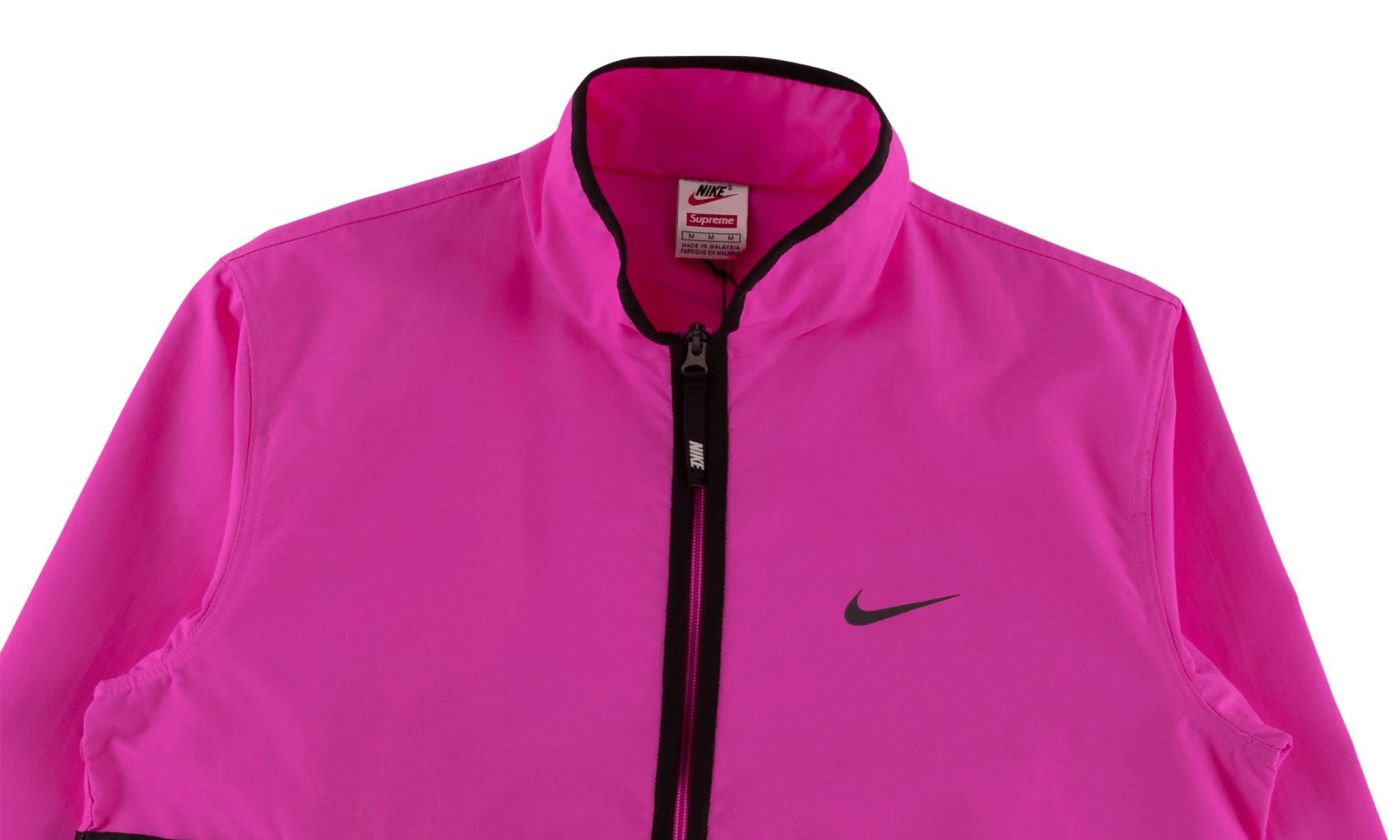 34dc5ae9 Supreme - Pink Nike Trail Running Jacket for Men - Lyst. View fullscreen