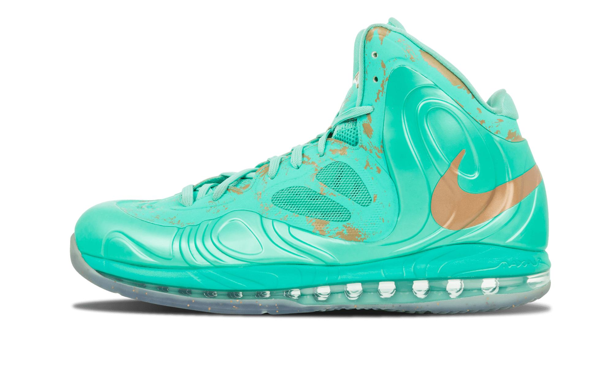 official photos 0aa32 e6816 Nike Air Max Hyperposite in Green for Men - Lyst