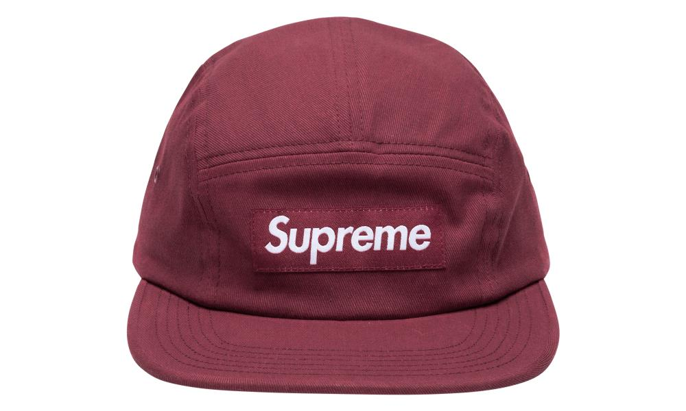 b10adccb Supreme Reactive Camp Cap in Red for Men - Lyst