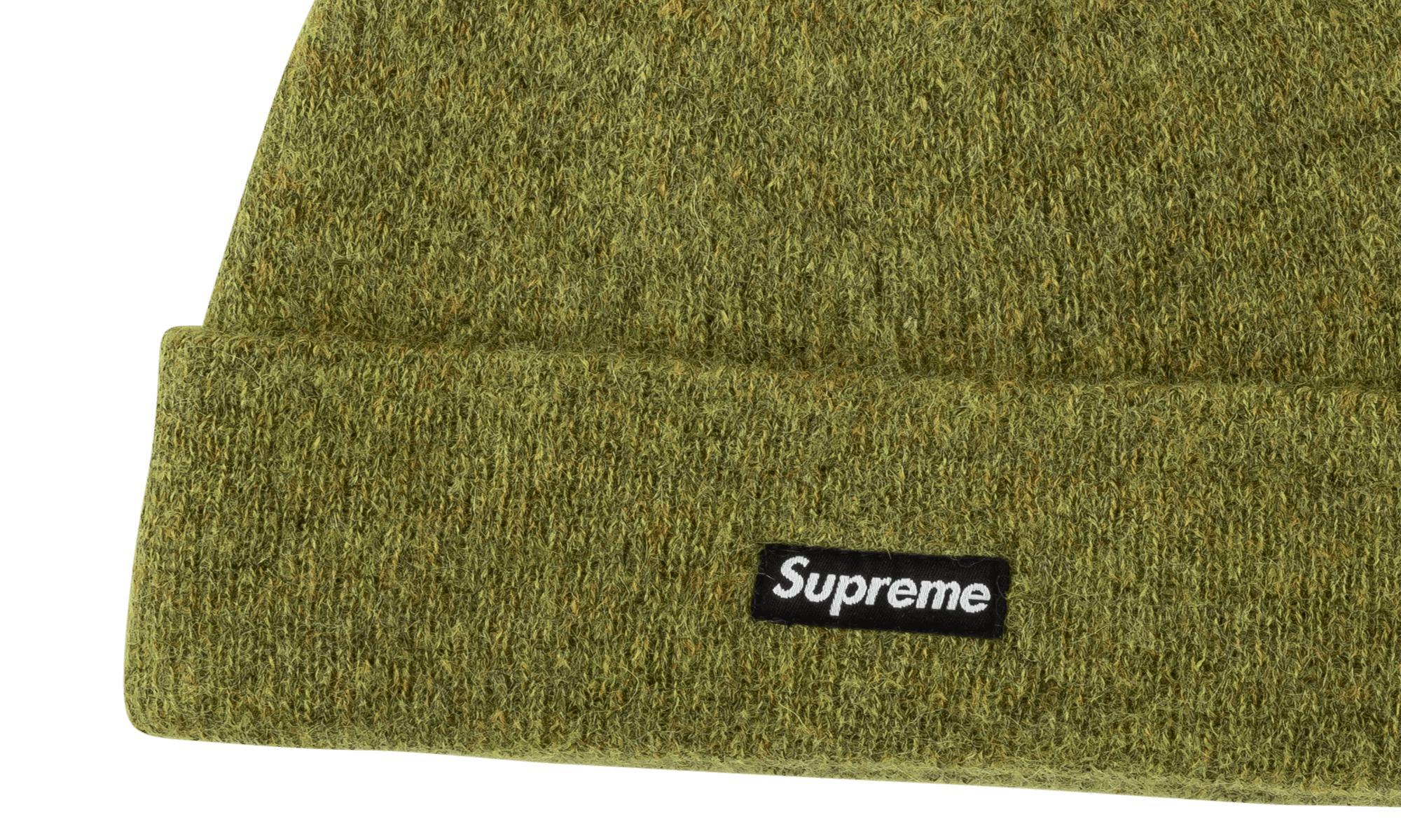 848030c41725e Supreme - Green Mohair Beanie for Men - Lyst. View fullscreen