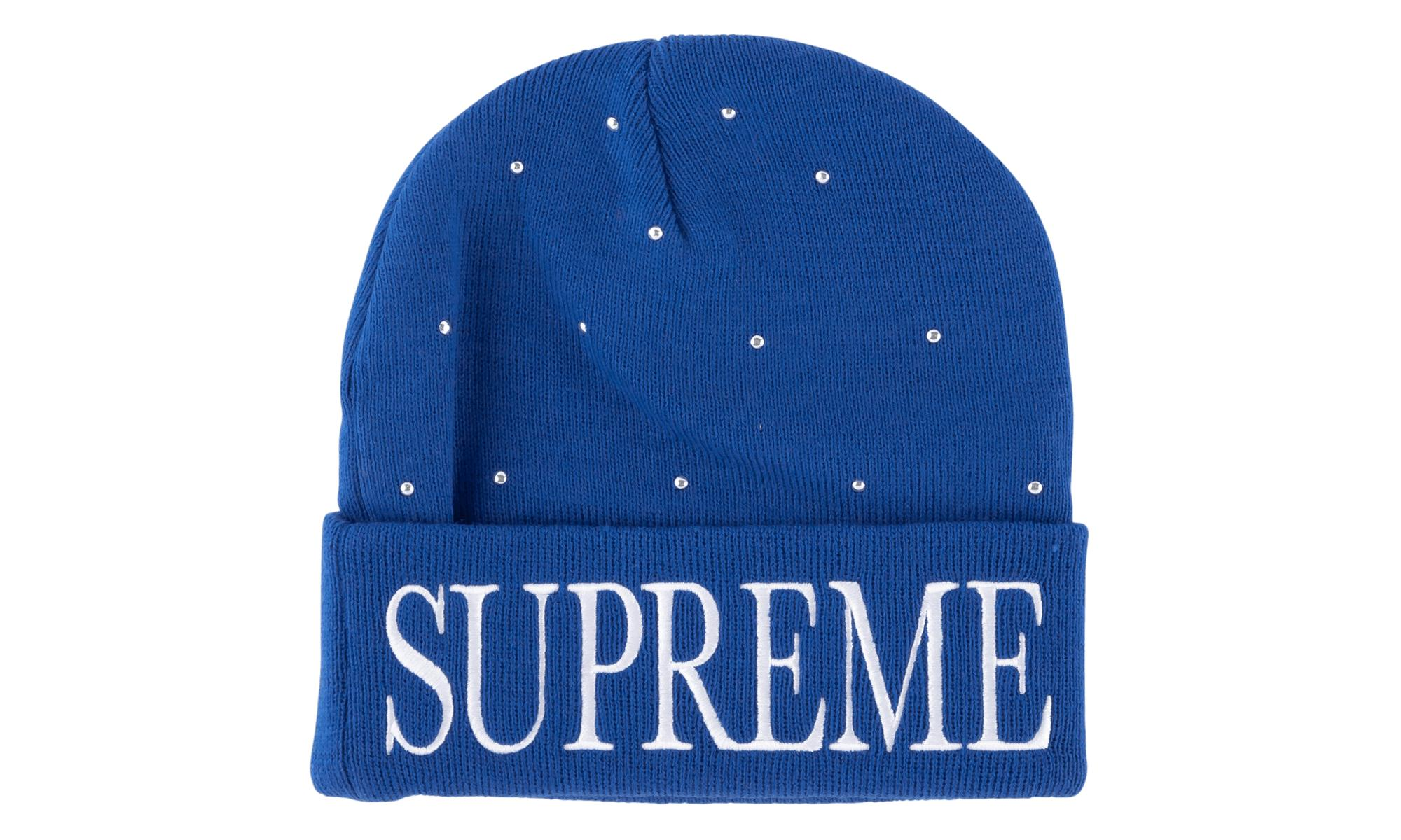 Supreme - Blue Studded Beanie - Lyst. View fullscreen 0e22359b7c