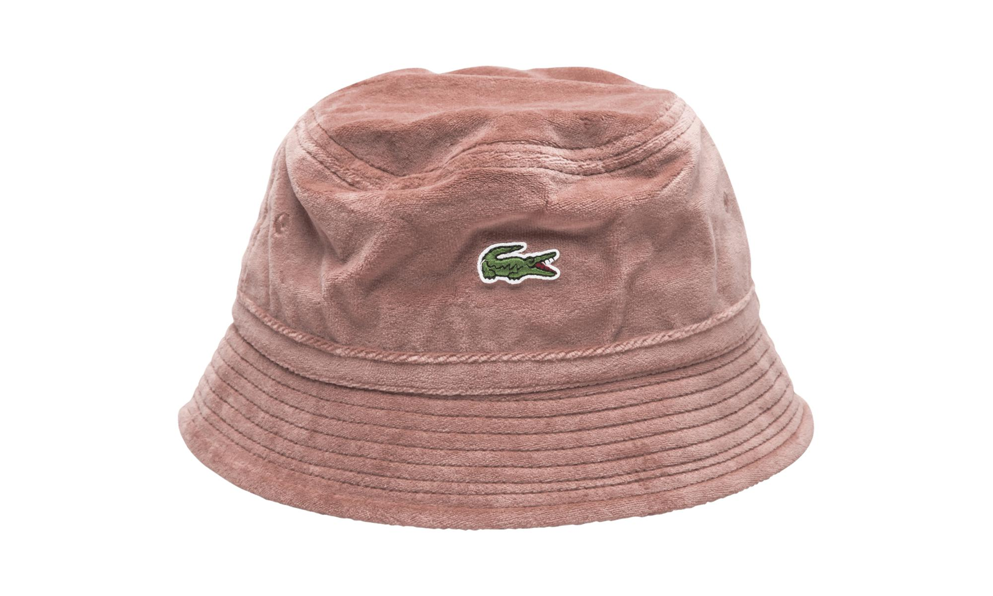 0fc154d02f83 Supreme Lacoste Velour Crusher in Pink for Men - Lyst