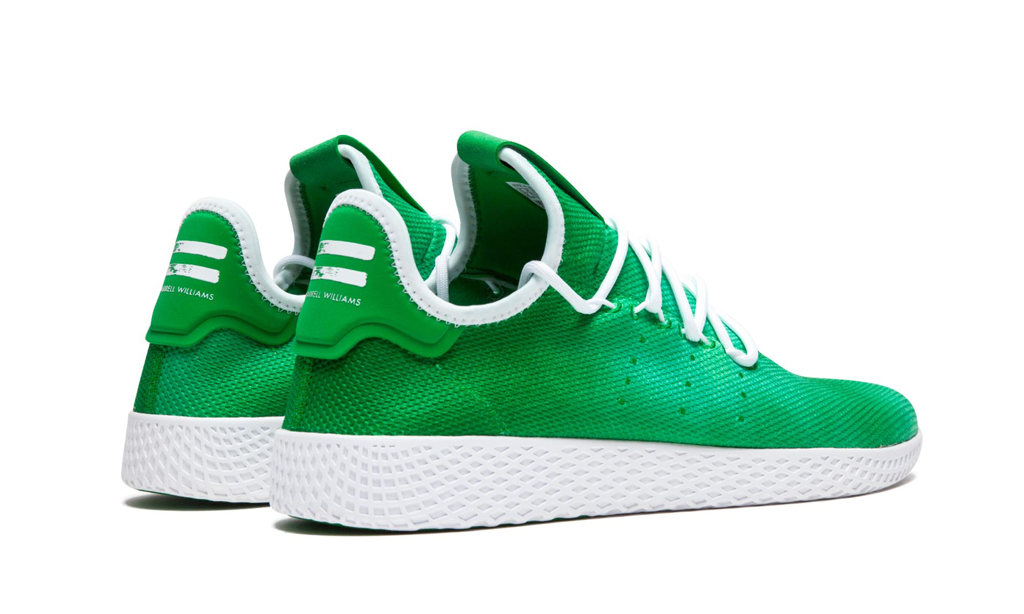 bf8e5b7c585ac0 Adidas - Green Pharrell Williams Hu Holi Tennis Hu for Men - Lyst. View  fullscreen