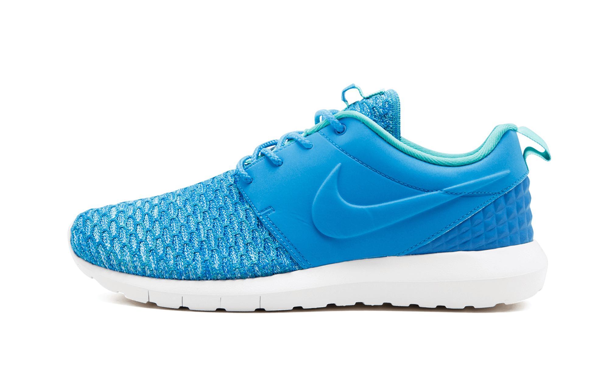 6ef239b9165e Lyst - Nike Roshe Nm Flyknit Prm in Blue for Men