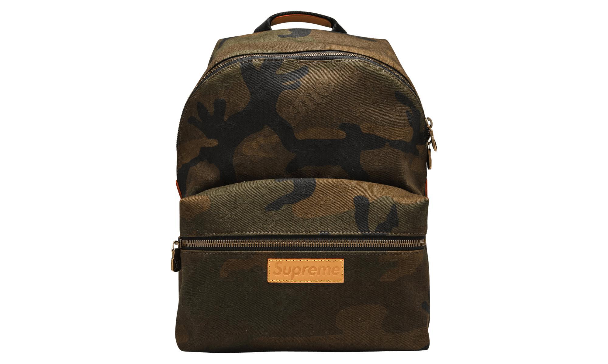12d18400640d Louis Vuitton X Supreme Apollo Backpack Monogram Camo