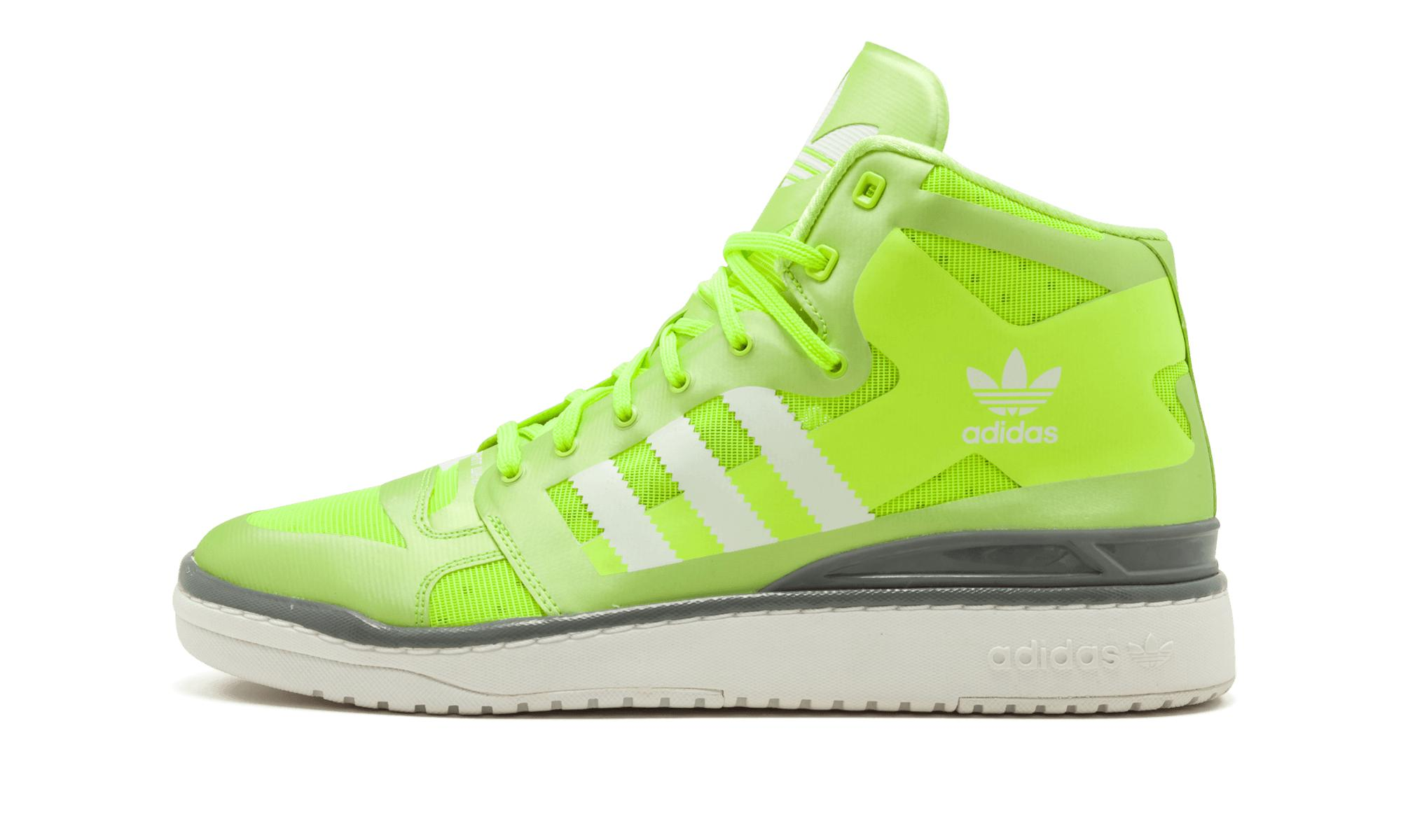 new style 0f9ee 3c4b9 ... Adidas - Green Forum Mid Crazylight for Men - Lyst.