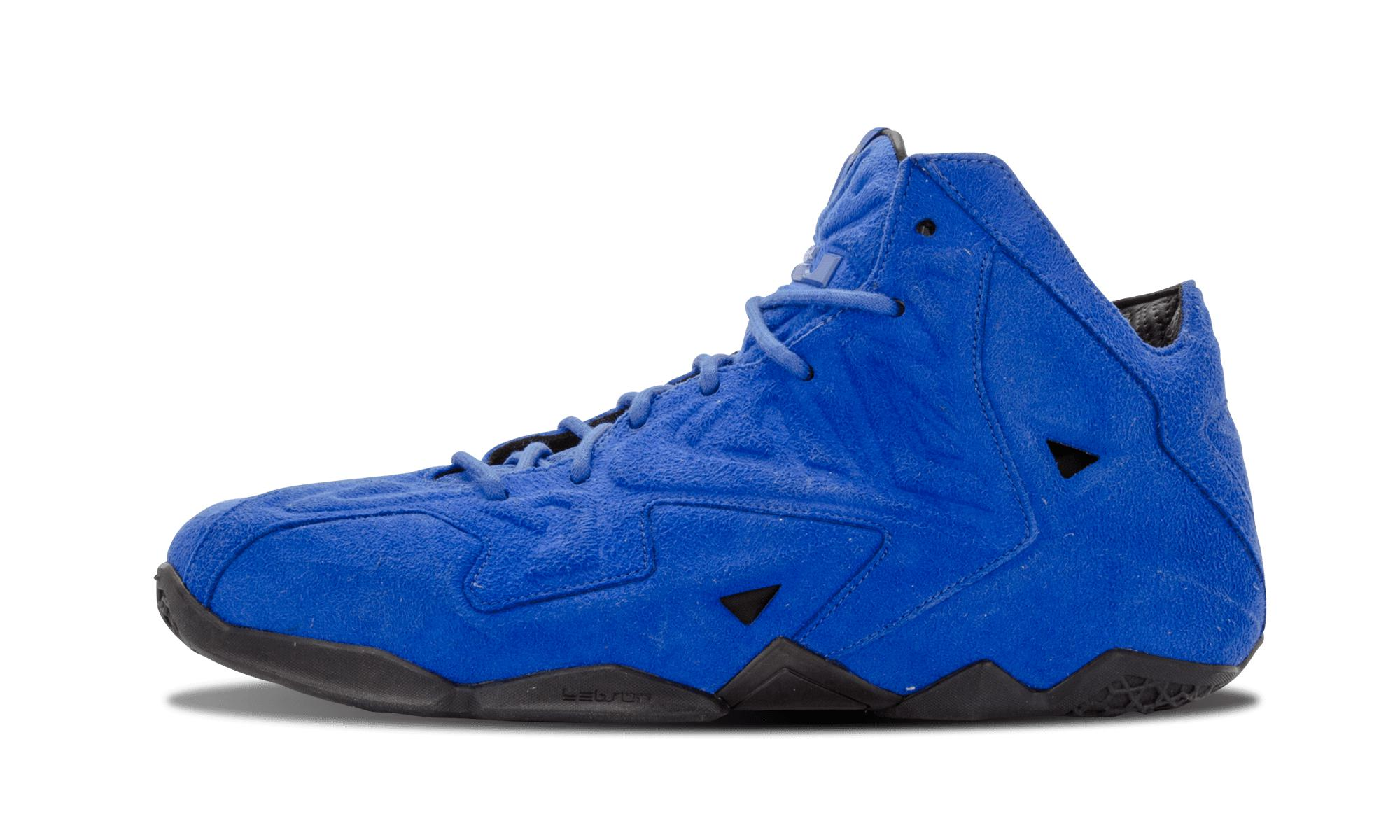 2985f2a07209 Nike Lebron 11 Ext Suede Qs in Blue for Men - Save 5% - Lyst
