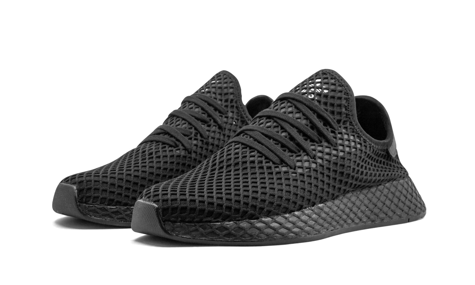 size 40 8e98c cec64 Adidas - Black Deerupt Runner for Men - Lyst. View fullscreen