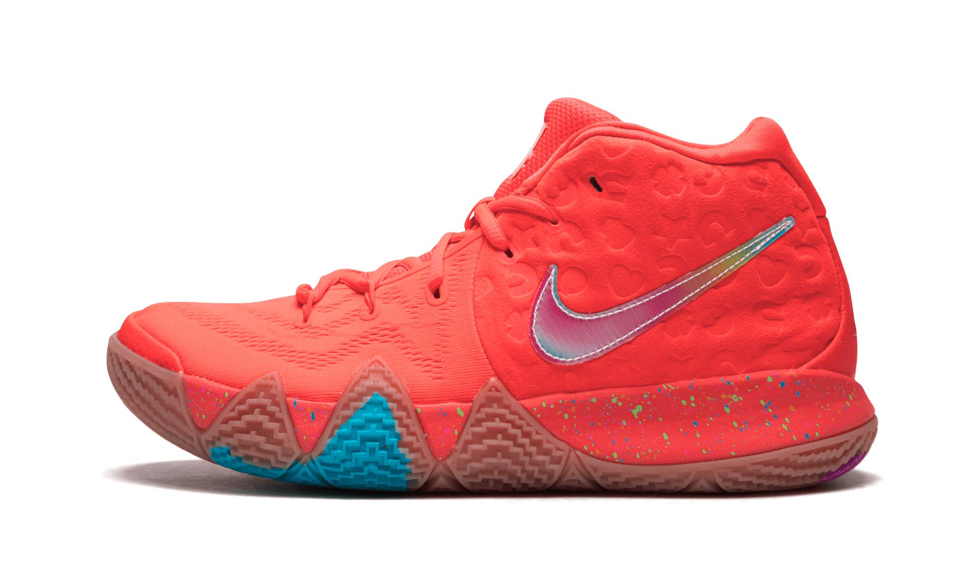 0585391208a Lyst - Nike Kyrie 4 in Red