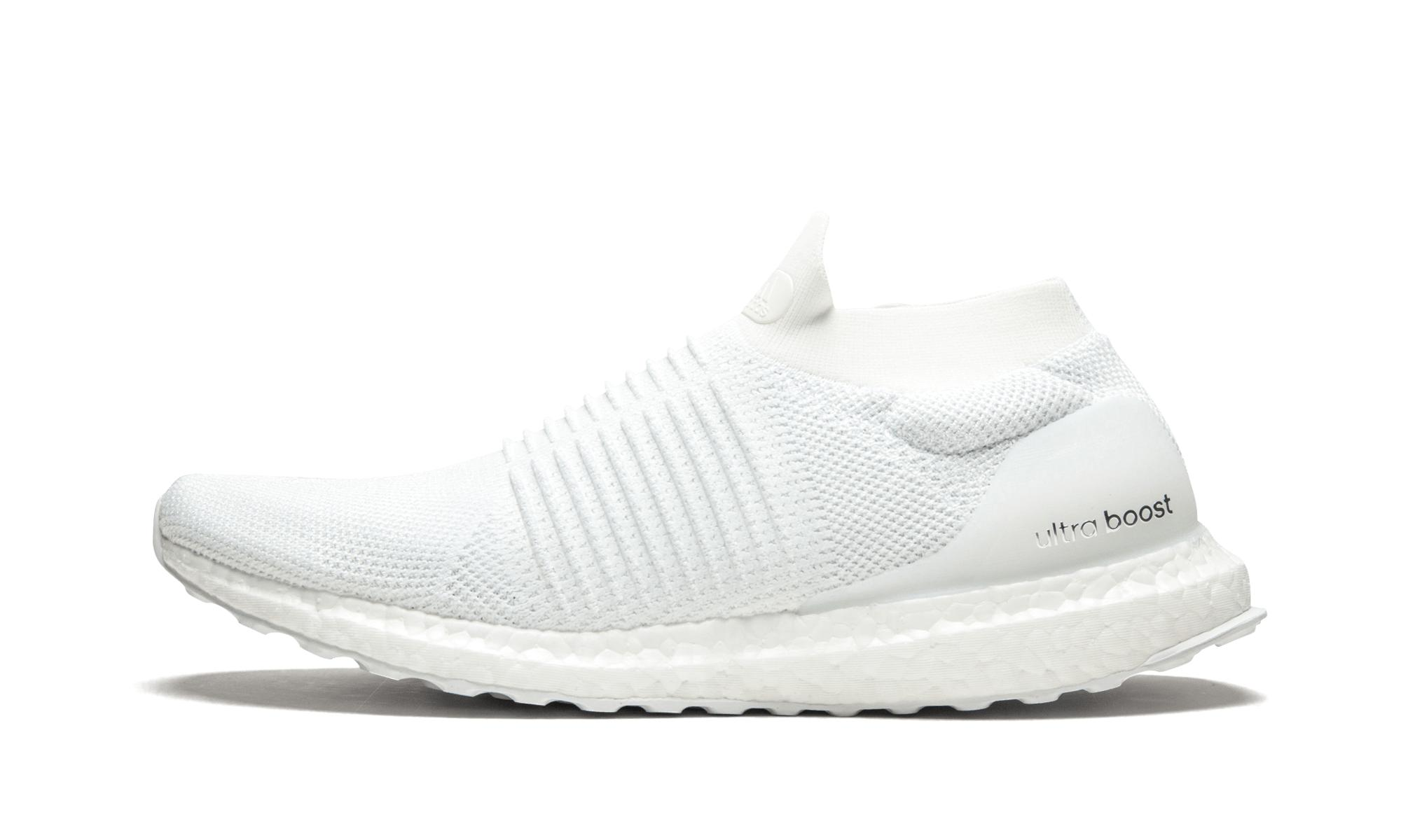low priced c98c0 aa149 adidas. Womens White Ultraboost Laceless