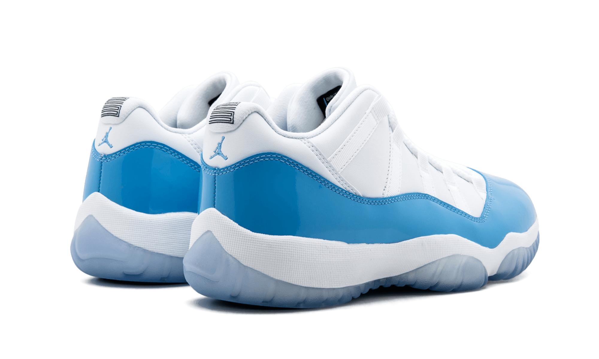 sports shoes f3b27 99cad Nike - Blue Air 11 Retro Low for Men - Lyst. View fullscreen