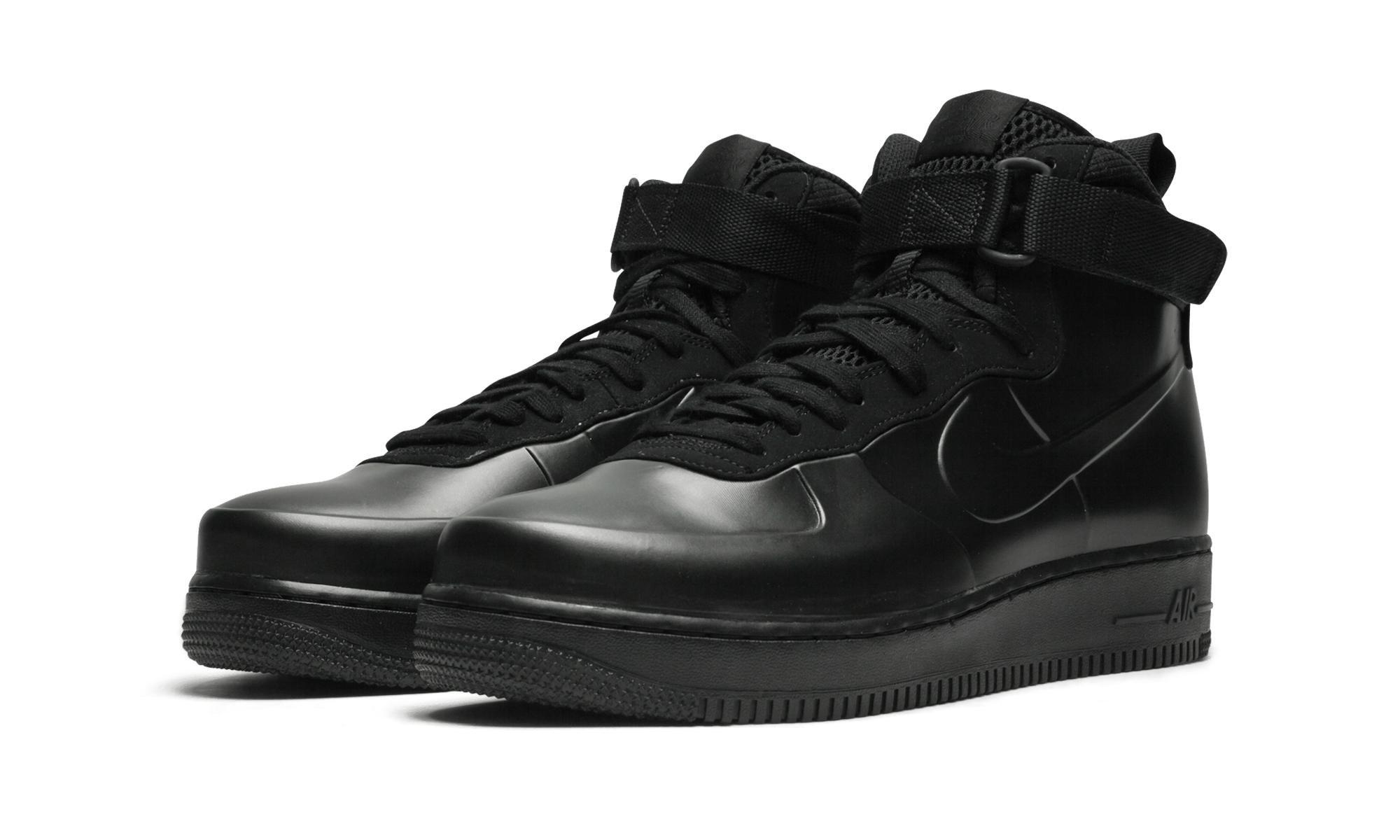 6094e40cd3118 Nike - Black Air Force 1 Foamposite Cup for Men - Lyst. View fullscreen