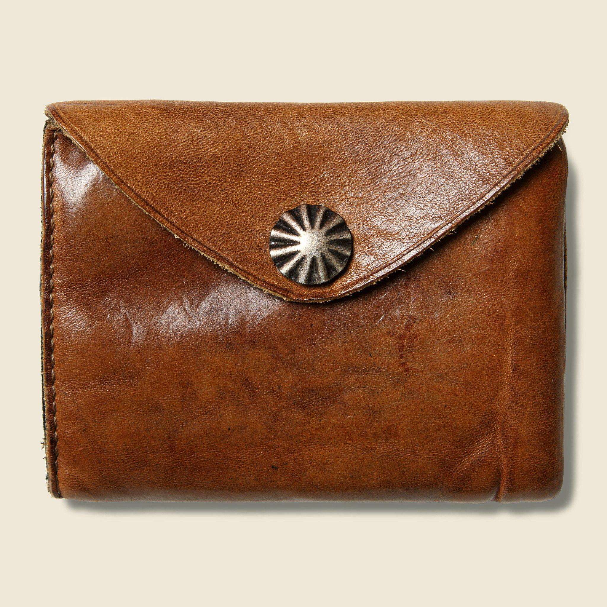 RRL - Concho Coin Wallet - Brown - Lyst