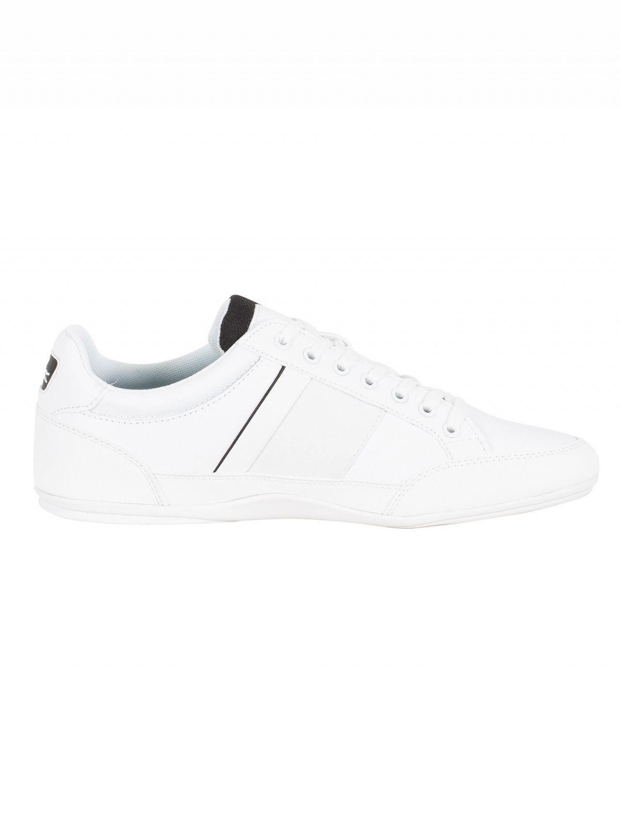 42cd2484252 Lacoste Chaymon 318 4 in White for Men - Lyst