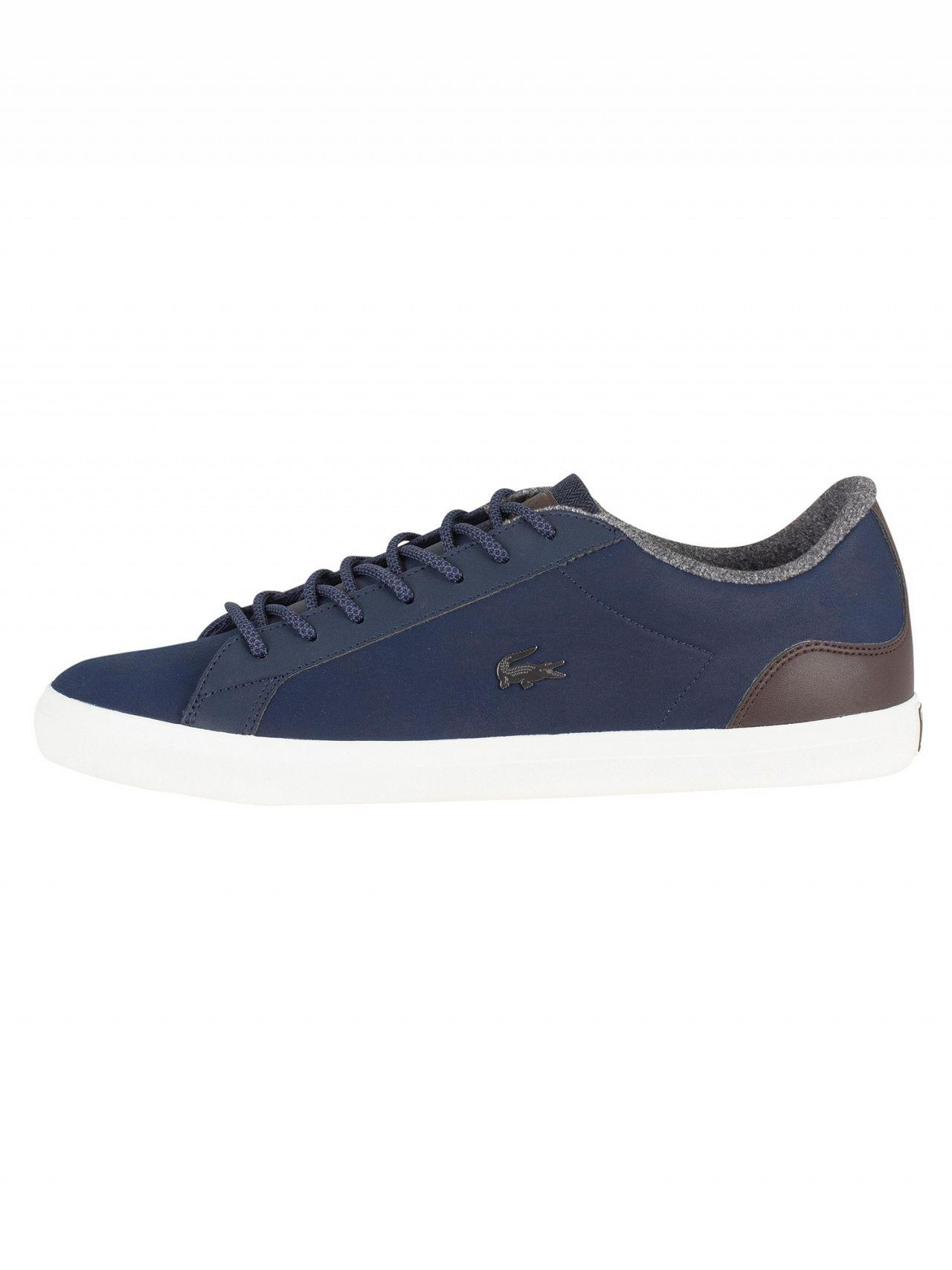 6a5505ad60a45 Lacoste - Men s Lerond 318 2 Cam Leather Trainers