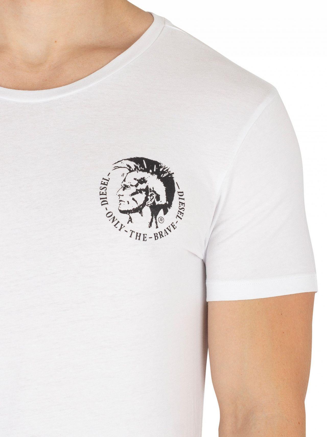 0eb169ff DIESEL - Black/navy/white 3 Pack Crew T-shirt for Men -. View fullscreen