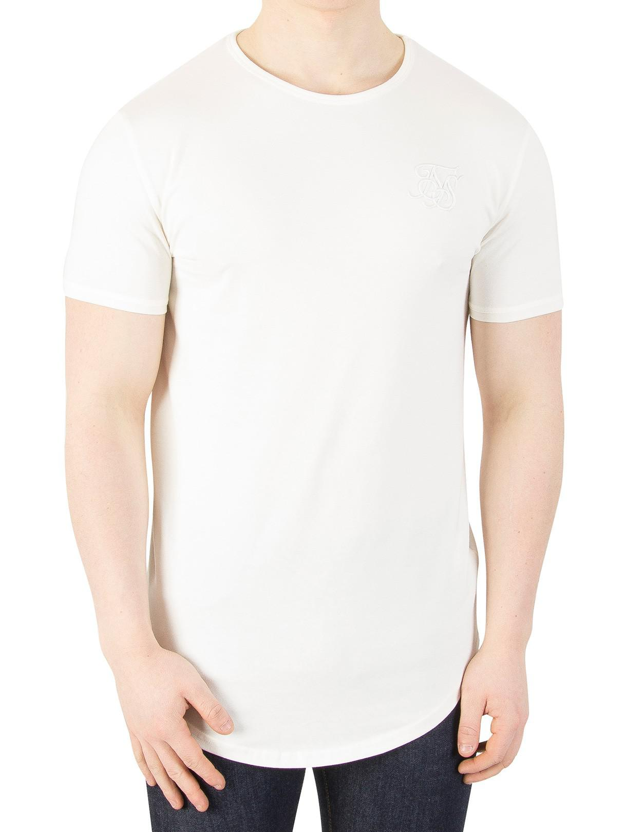 Lyst Sik Silk Pastel Yellow Gym T Shirt In Yellow For Men