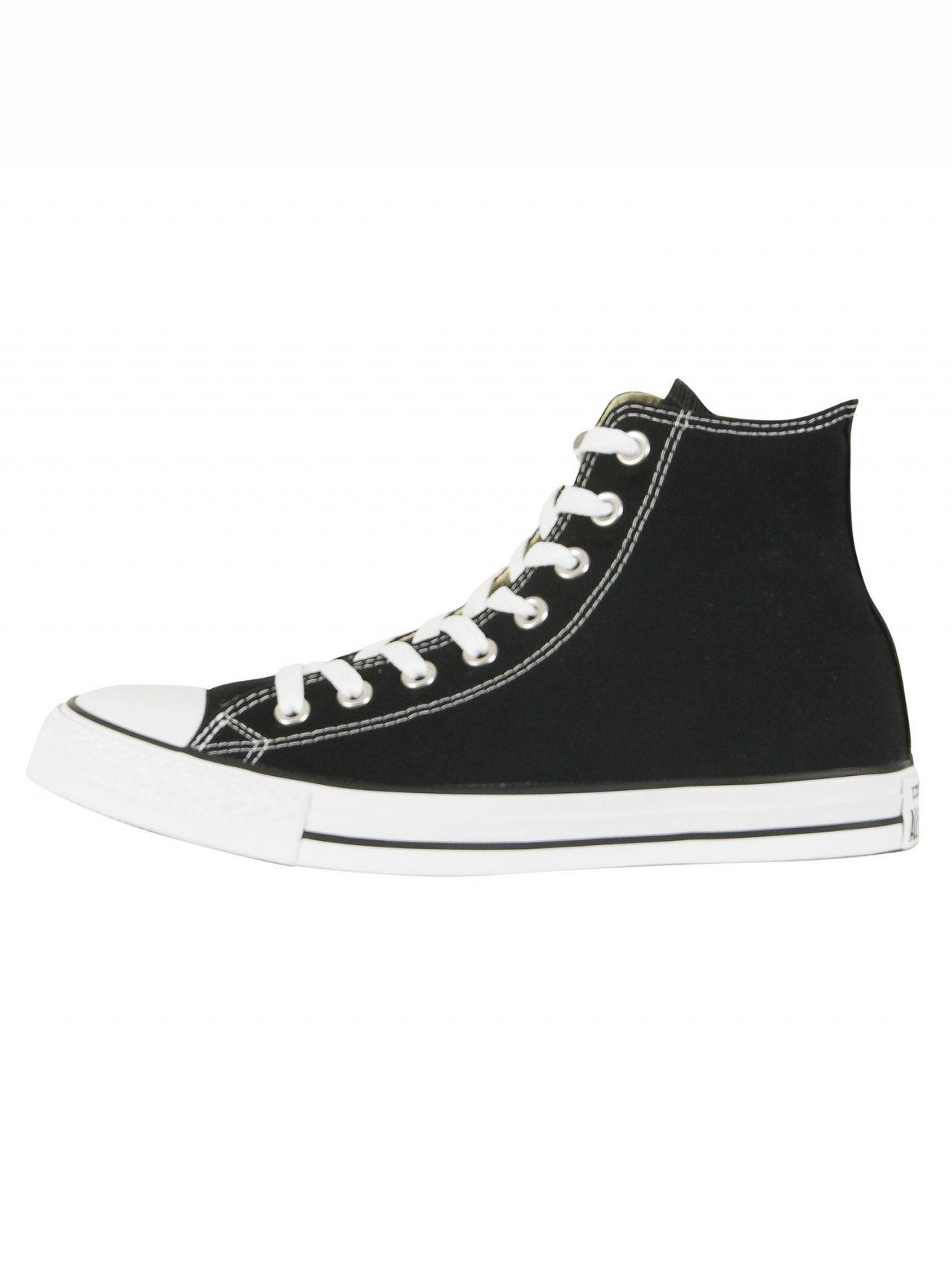Converse - Chuck Taylor All Star Black Hi Trainers for Men - Lyst. View  fullscreen 9f4be2dcf