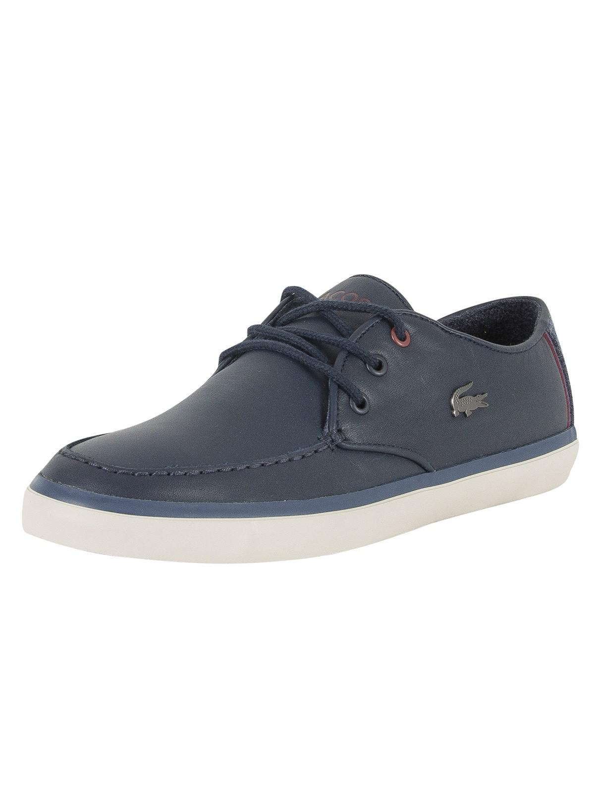 Mens Sevrin 417 1 Cam Low-Top Sneakers Lacoste xSm0F8GI1