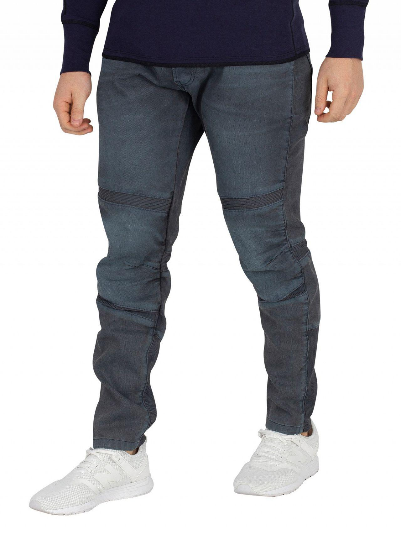 a81d9f19b0d G-Star RAW - Blue Dark Aged Motac 3d Slim Jeans for Men - Lyst. View  fullscreen