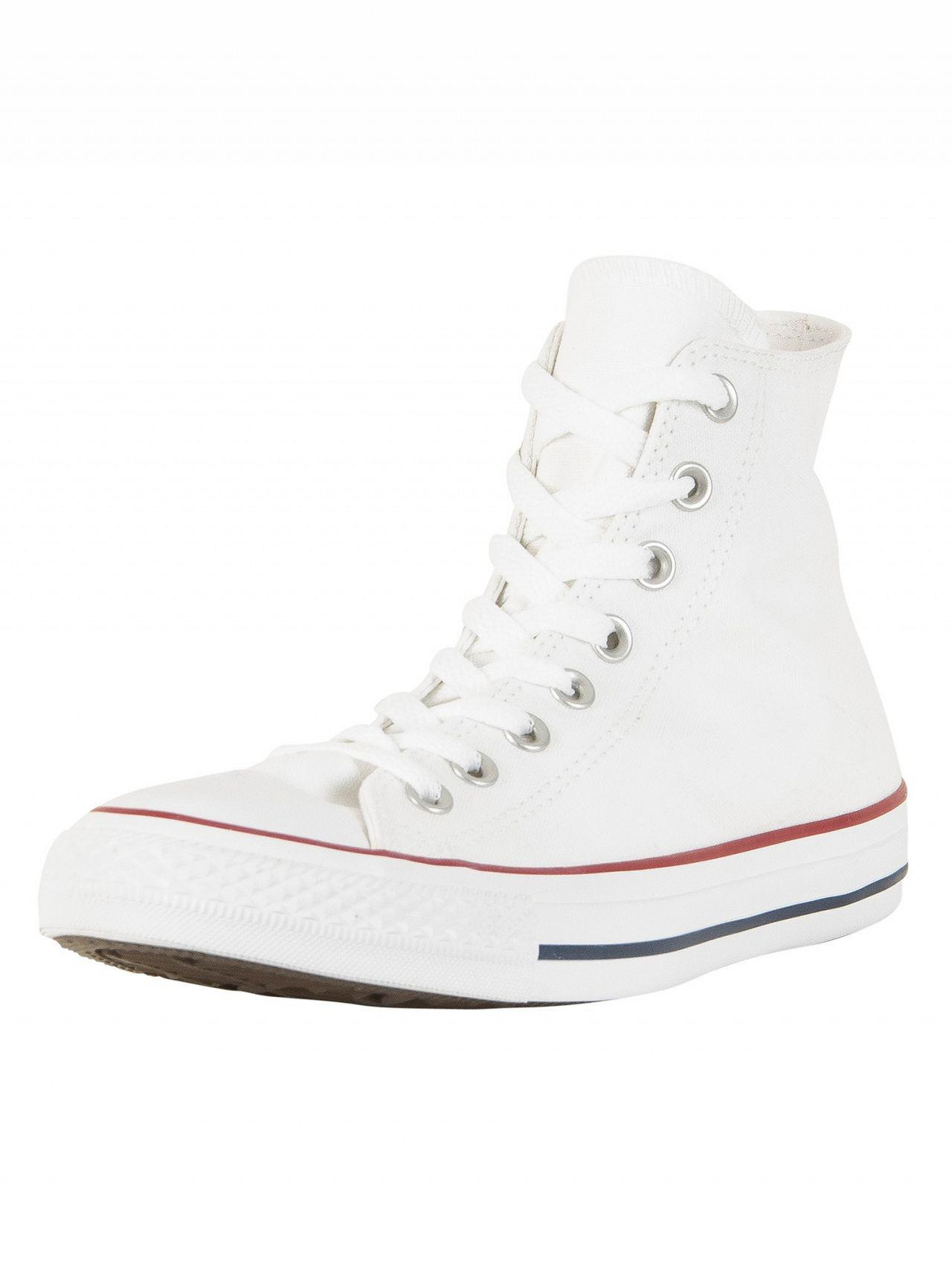 Lyst Optical For In Hi Converse Trainers Star Men White All NkOX8nwP0