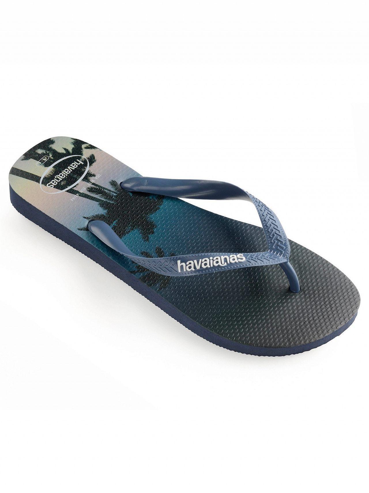 c1a4e91ba Havaianas - Navy blue Hype Flip Flops for Men - Lyst. View fullscreen