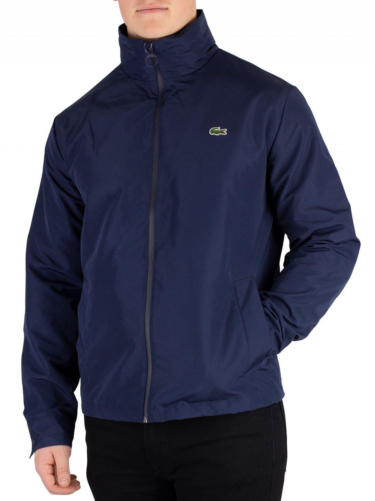 17b29aa0bb Lacoste Men's Lightweight Jacket, Blue Men's Jacket In Blue in Blue ...
