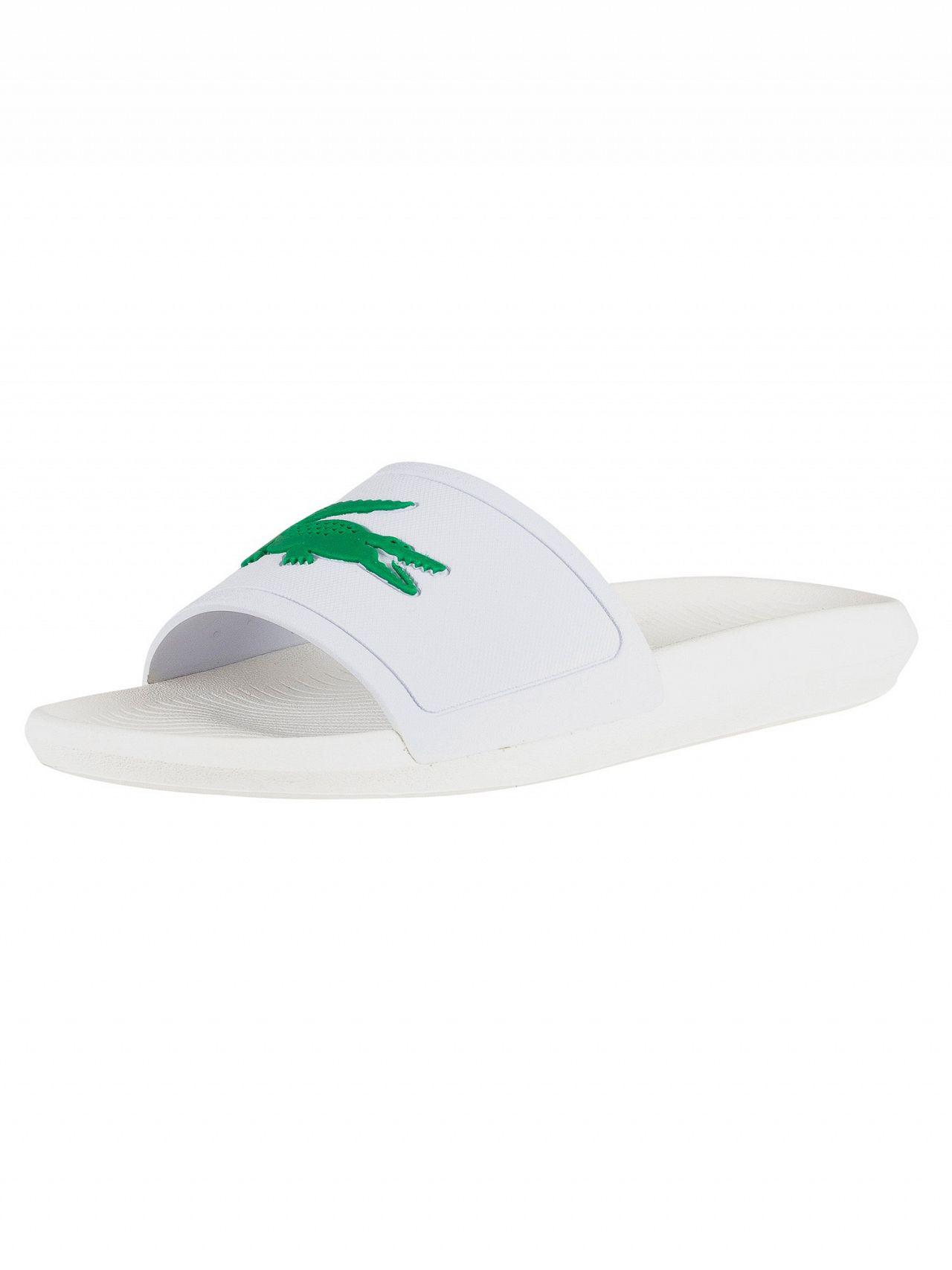 9cf97b28fe4d73 Lacoste Croco Slide 119 1 Sandals in White for Men - Save 8% - Lyst