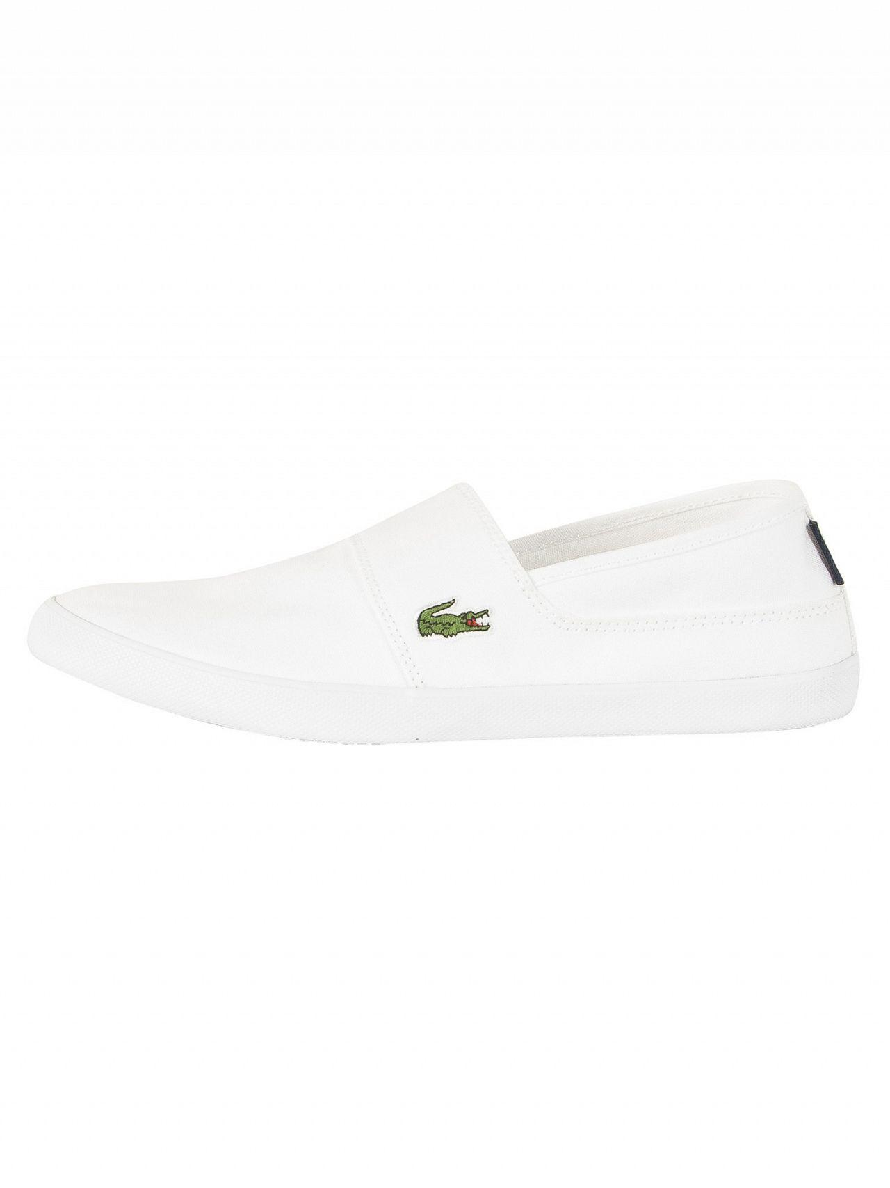 bb4fecbd2 Lyst - Lacoste White Marice Bl 2 Cam Trainers in White for Men
