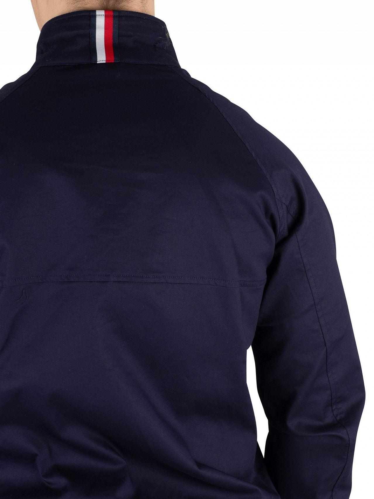 f95d63aa Tommy Hilfiger Maritime Blue Icon Cotton Harrington Jacket in Blue for Men  - Lyst