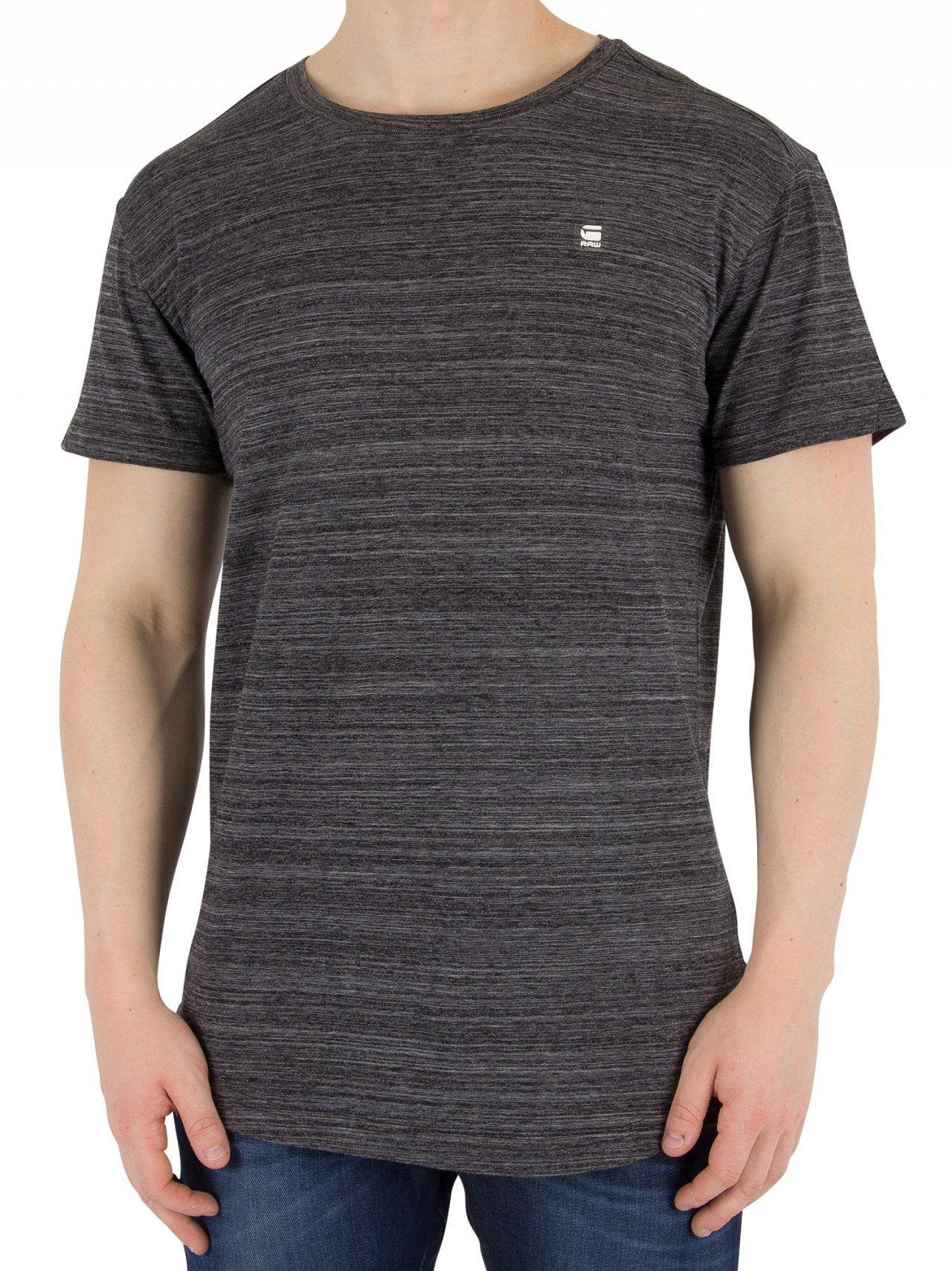 8f0b93d66e G-Star Raw Dark Black Starkon T-shirt in Black for Men - Lyst