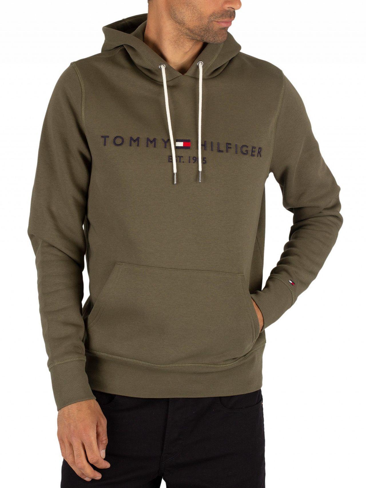Tommy Hilfiger Logo Crew Neck Sweater, Grape Leaf