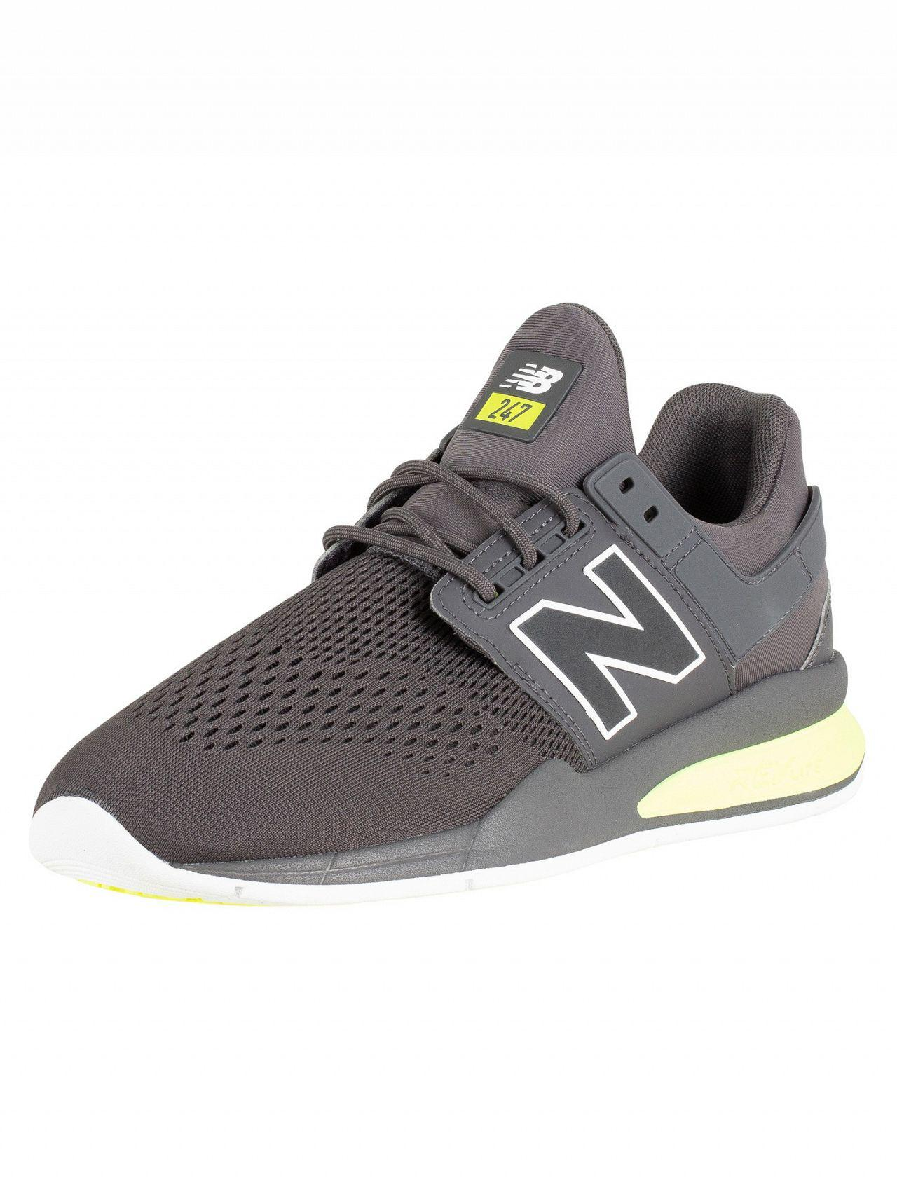 5efe6cd13bfb8 Lyst - New Balance Grey 247 Trainers in Gray for Men